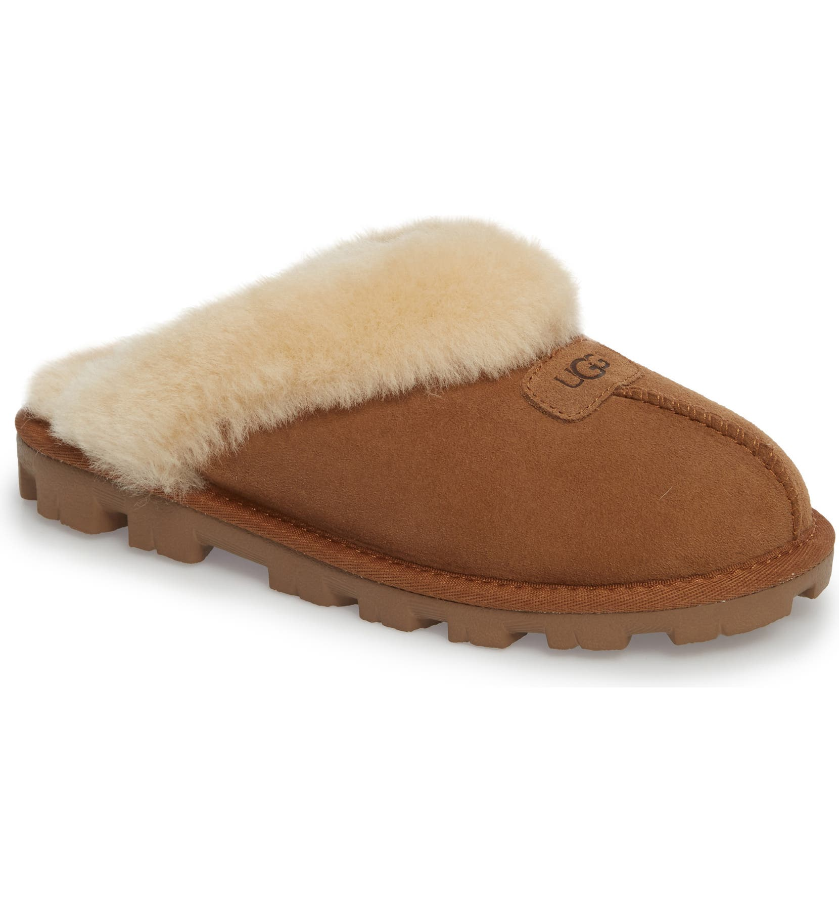 UGG® Genuine Shearling Slipper (Women)  0618b8f50