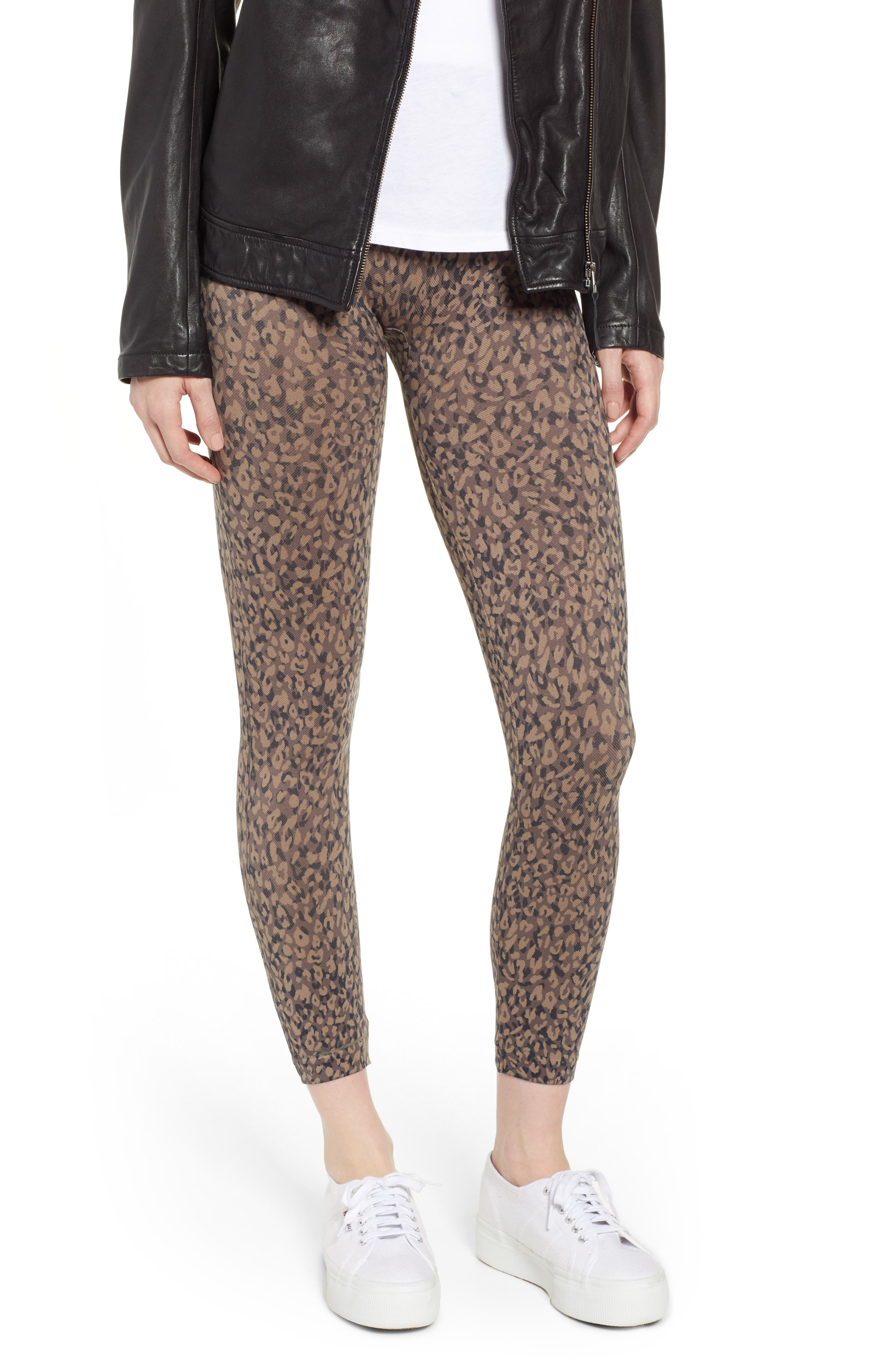 Look at Me Now' Seamless Leggings,                             Main thumbnail 1, color,                             MINI LEOPARD