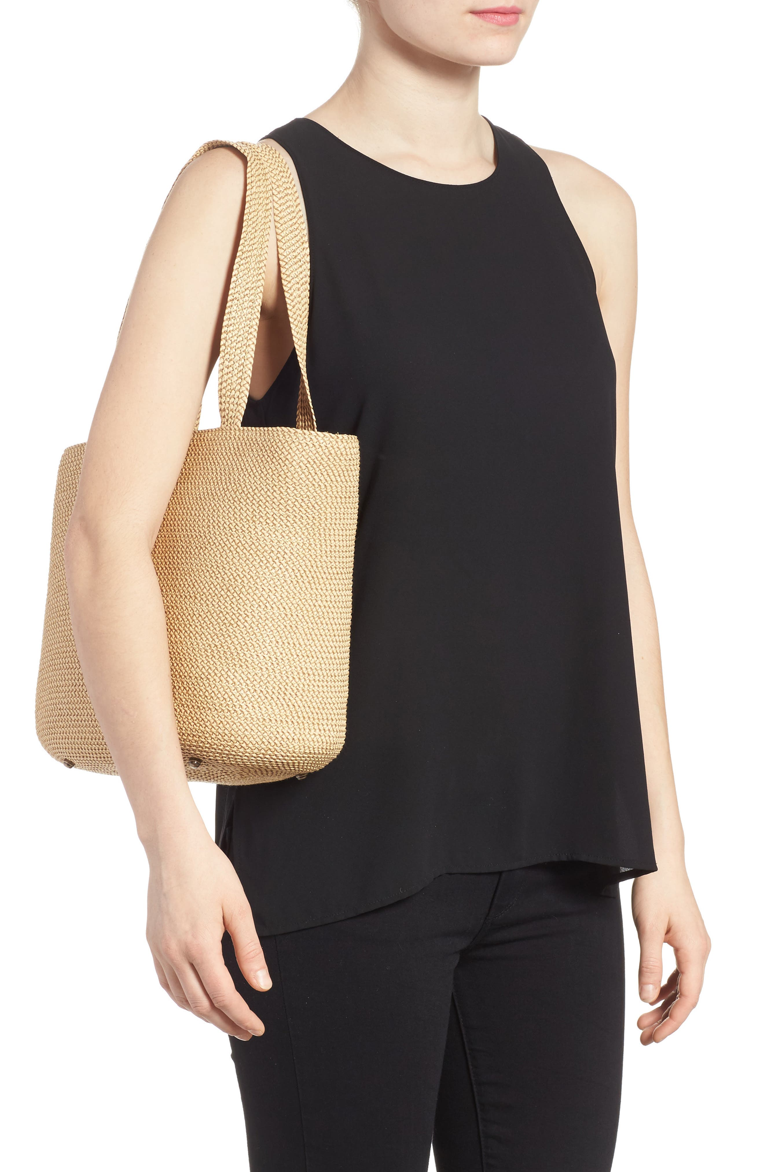 Squishee<sup>®</sup> Tote,                             Alternate thumbnail 2, color,                             PEANUT