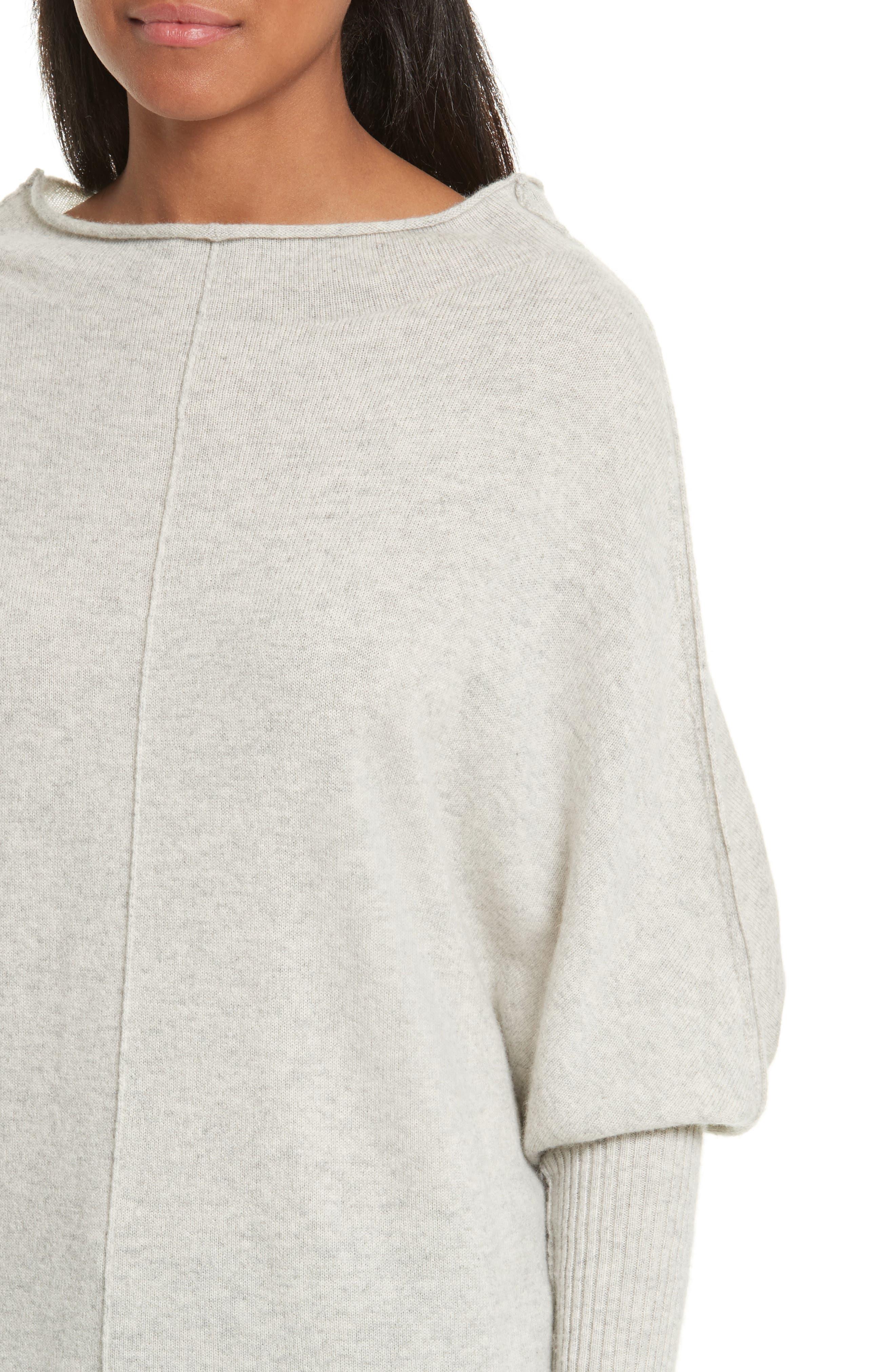 Rosalie Cashmere Sweater,                             Alternate thumbnail 4, color,