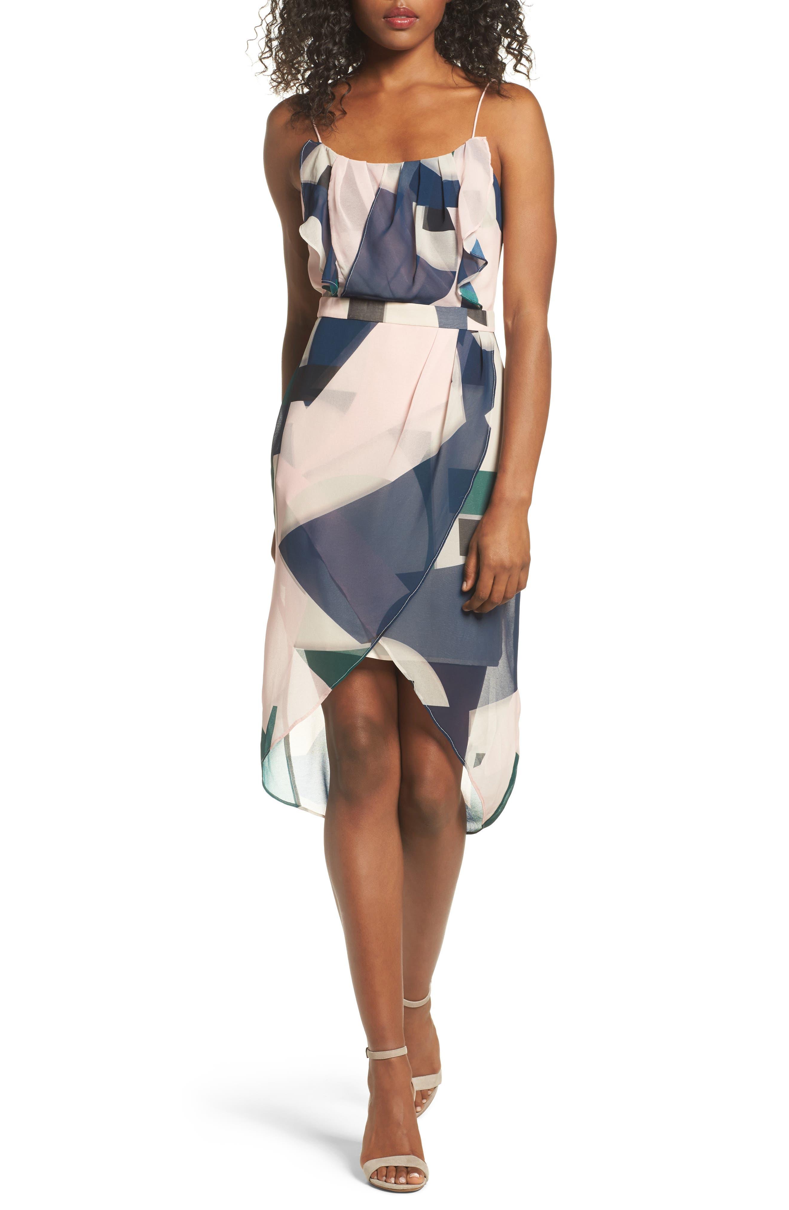 Tahiti Sheath Dress,                         Main,                         color, 650
