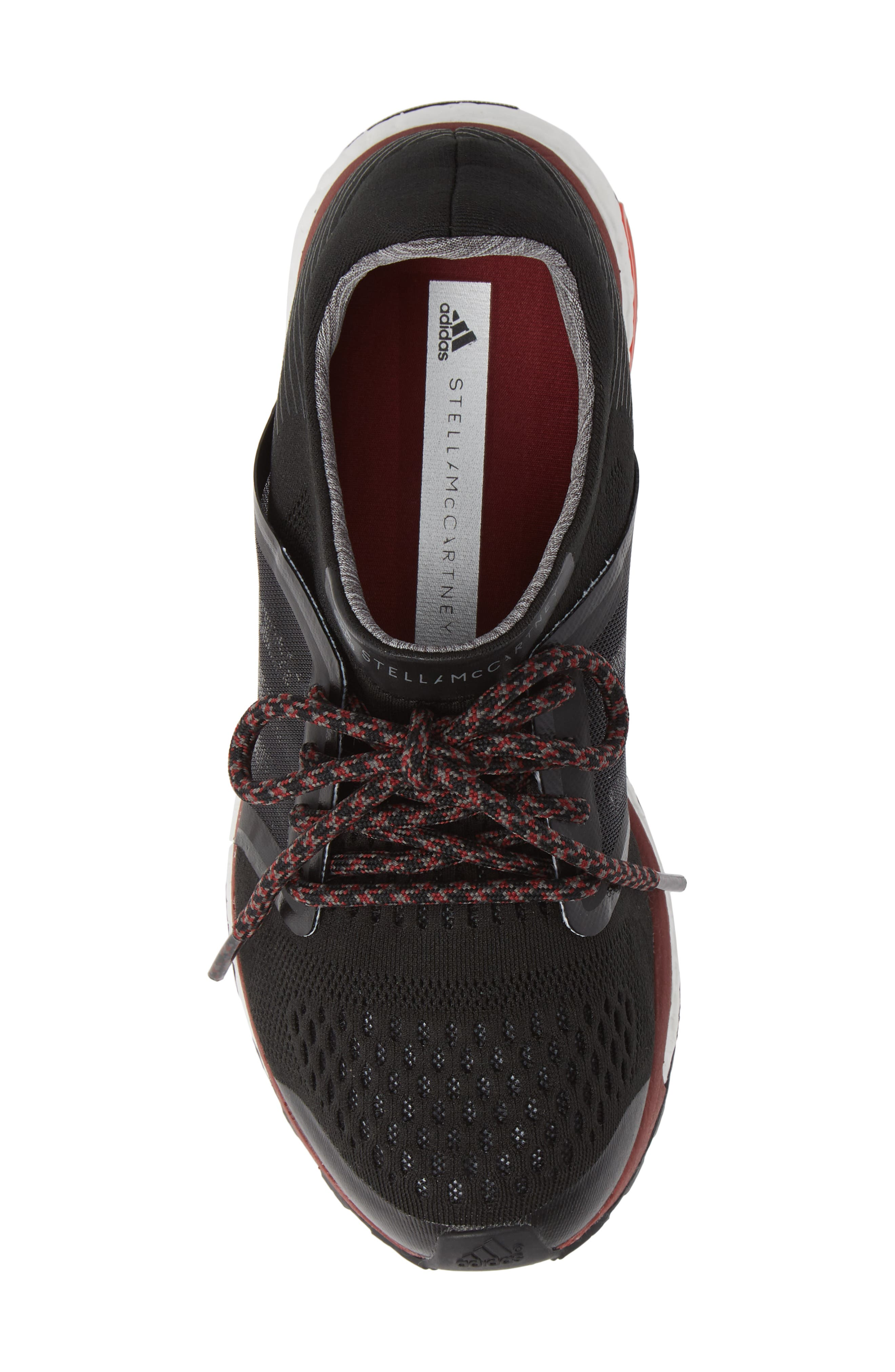 by Stella McCartney Adizero Adios Running Shoe,                             Alternate thumbnail 5, color,                             001