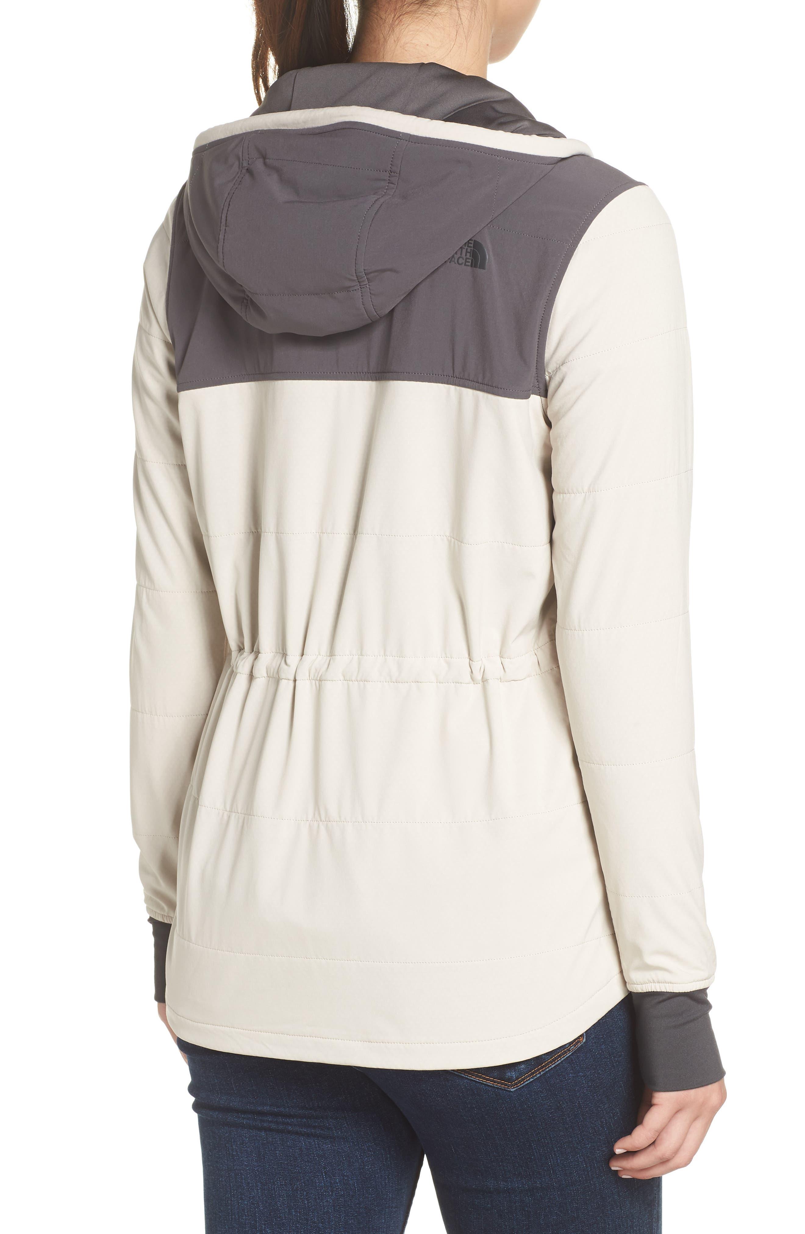 Mountain Zip Hooded Sweatshirt,                             Alternate thumbnail 2, color,                             PEYOTE BEIGE/ GRAPHITE GREY