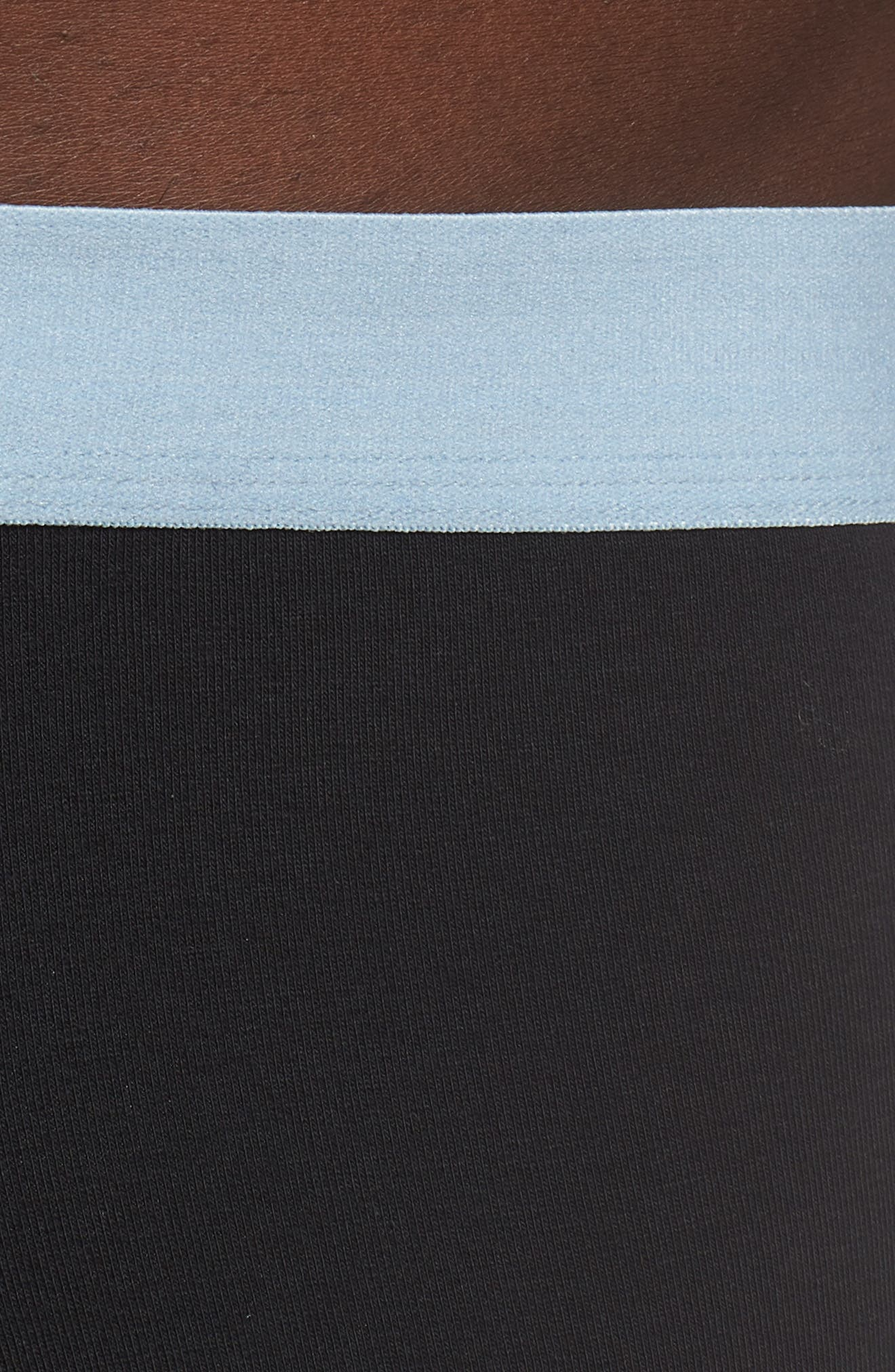 Cotton Trunks,                             Alternate thumbnail 4, color,                             LIGHT BLUE