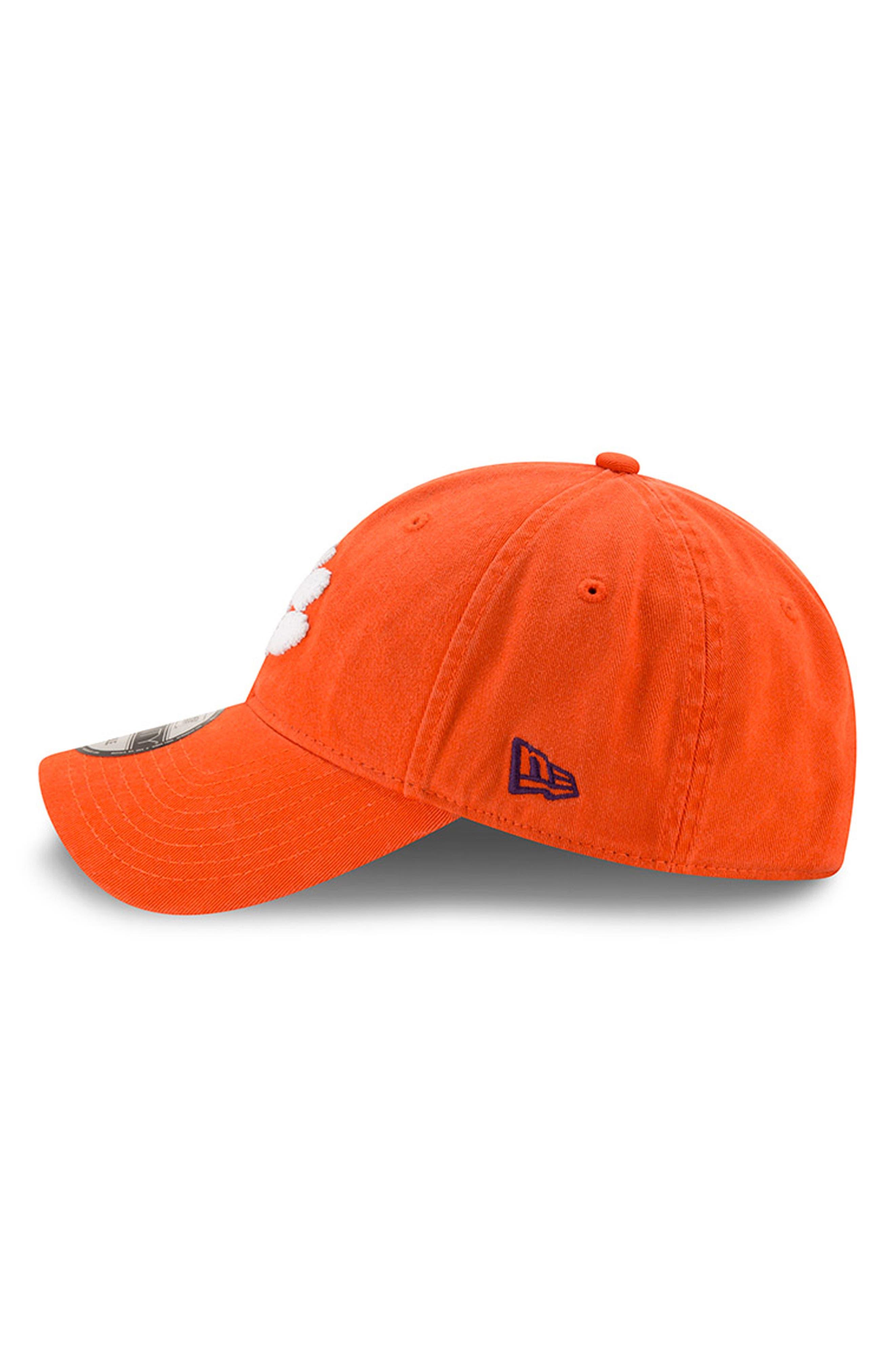New Era Collegiate Core Classic - Clemson Tigers Baseball Cap,                             Alternate thumbnail 5, color,