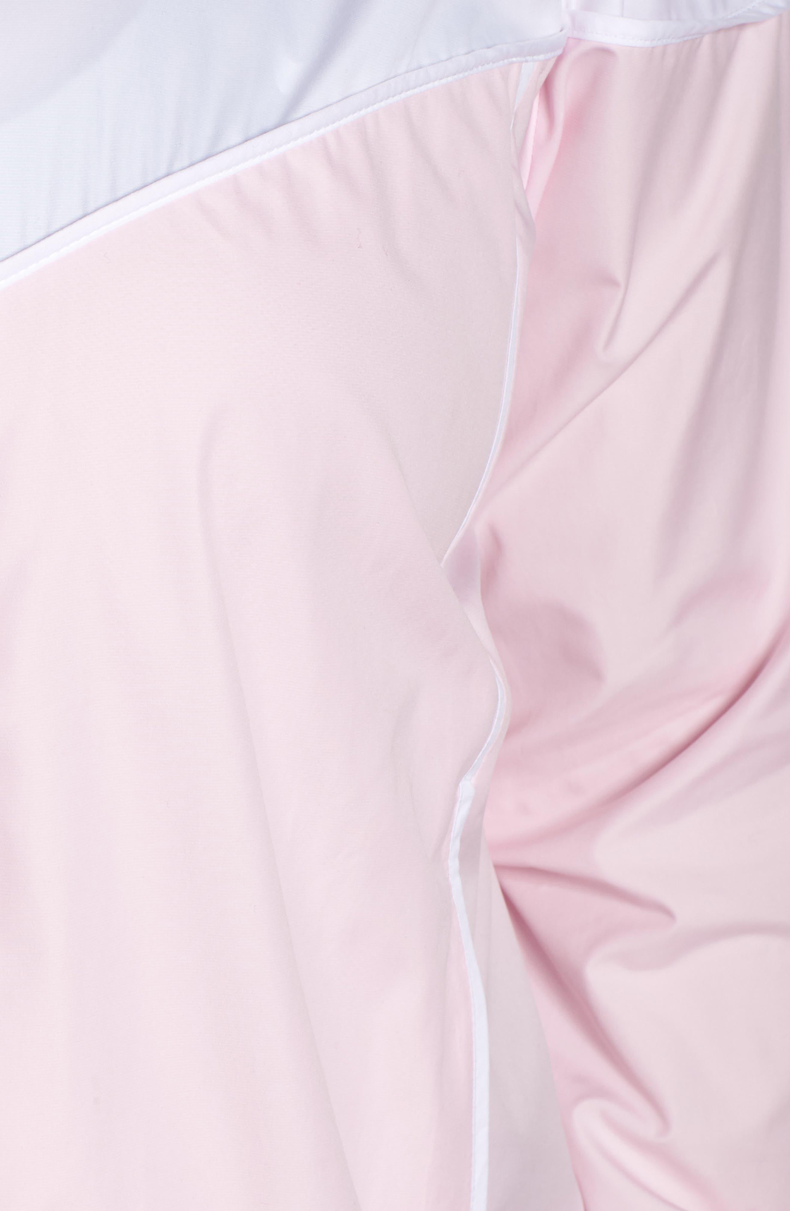 NIKE,                             Sportswear Windrunner Jacket,                             Alternate thumbnail 7, color,                             PINK FOAM/ WHITE/ PINK FOAM