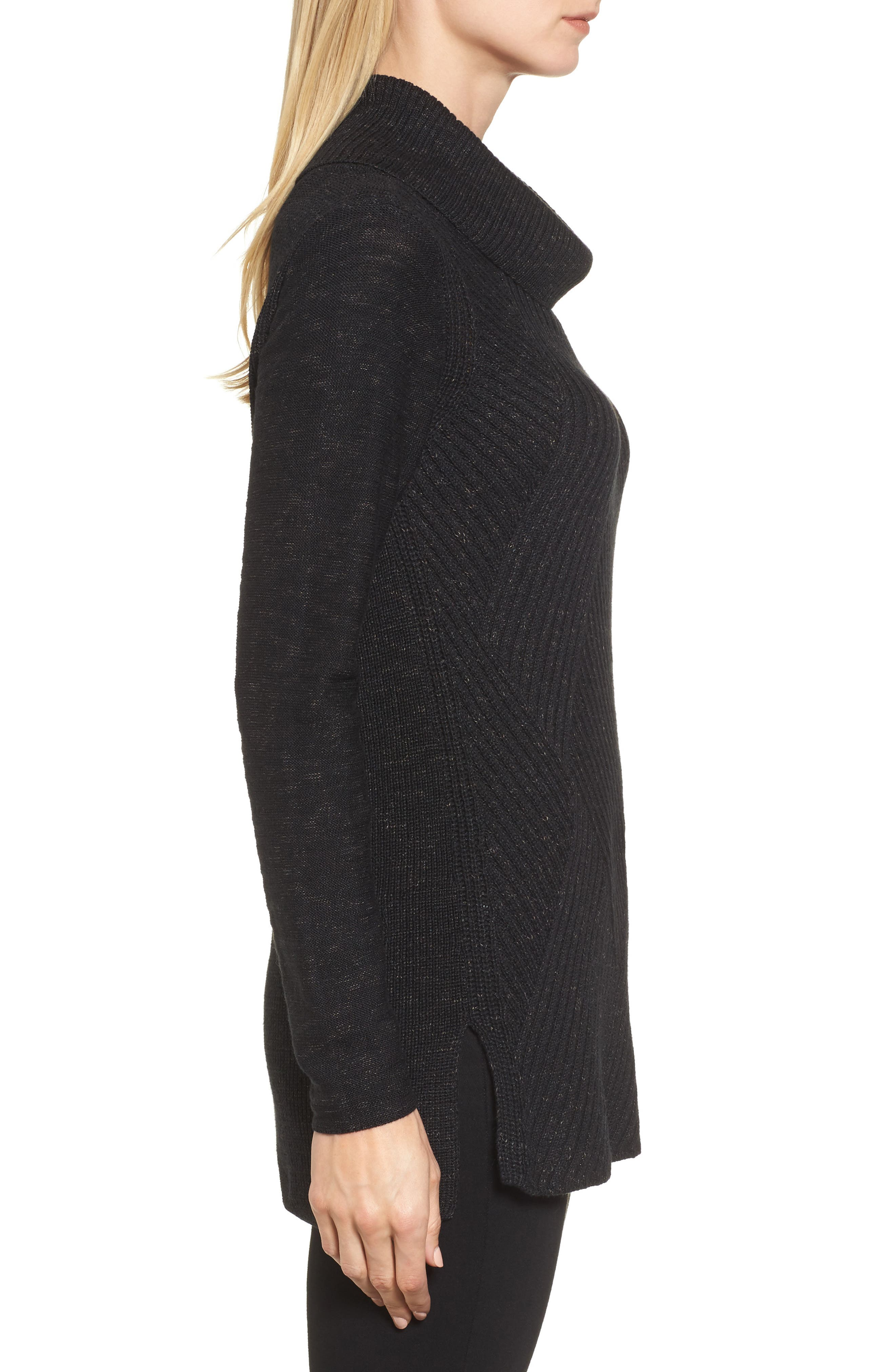 North Star Turtleneck Tunic,                             Alternate thumbnail 7, color,