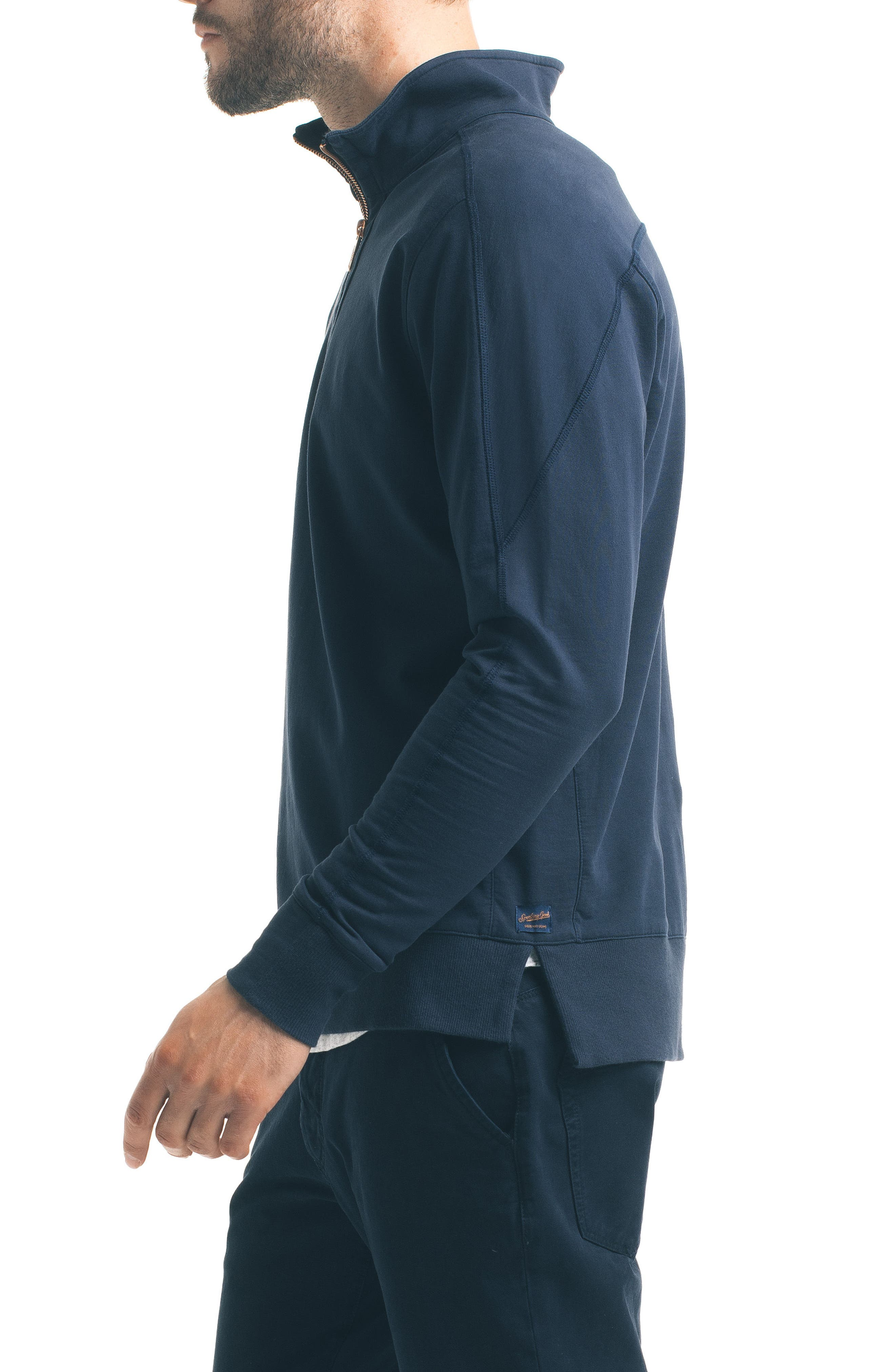 Slim Pro Quarter Zip Pullover,                             Alternate thumbnail 9, color,