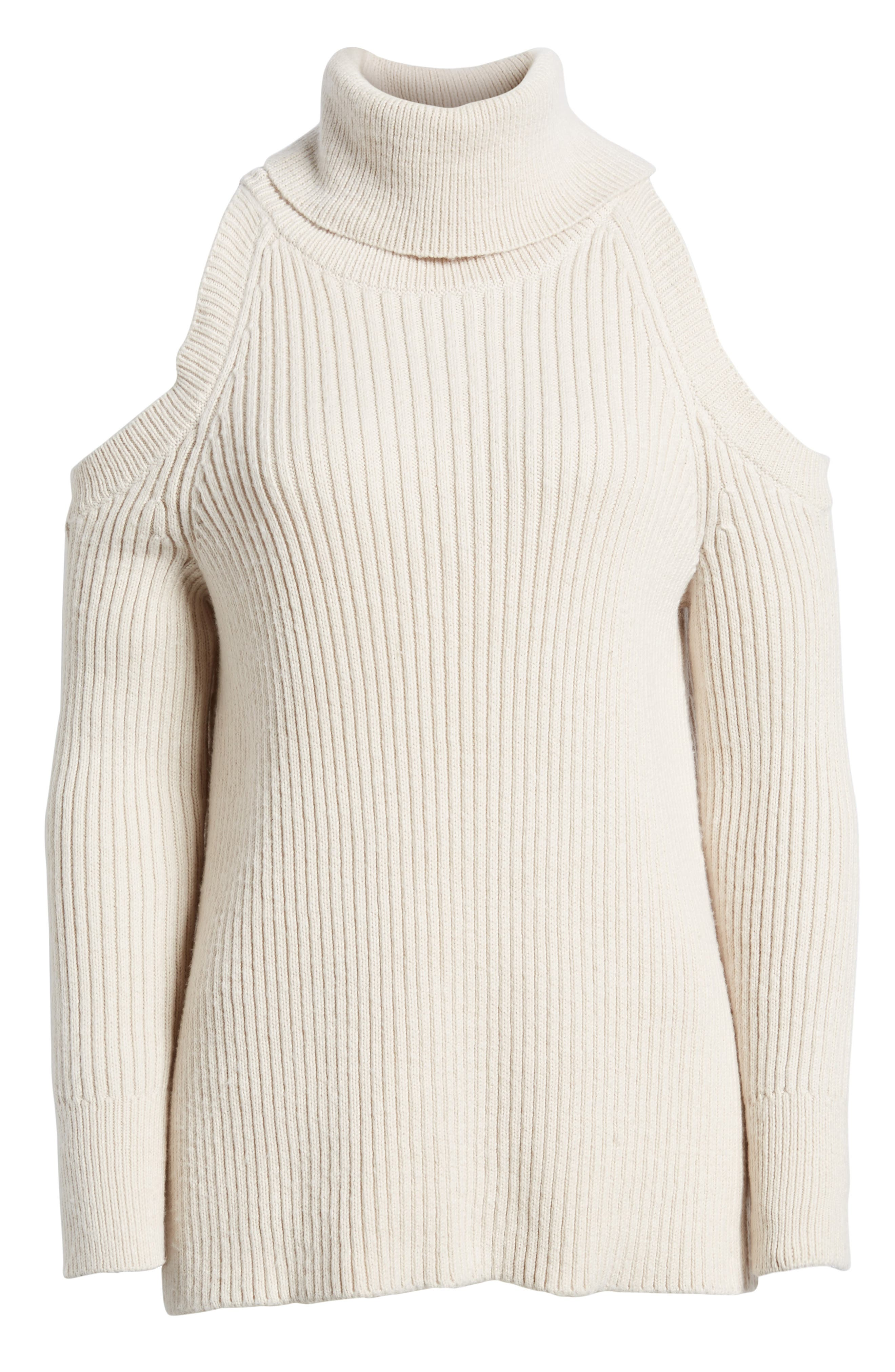 Rodell Cold Shoulder Sweater,                             Alternate thumbnail 12, color,