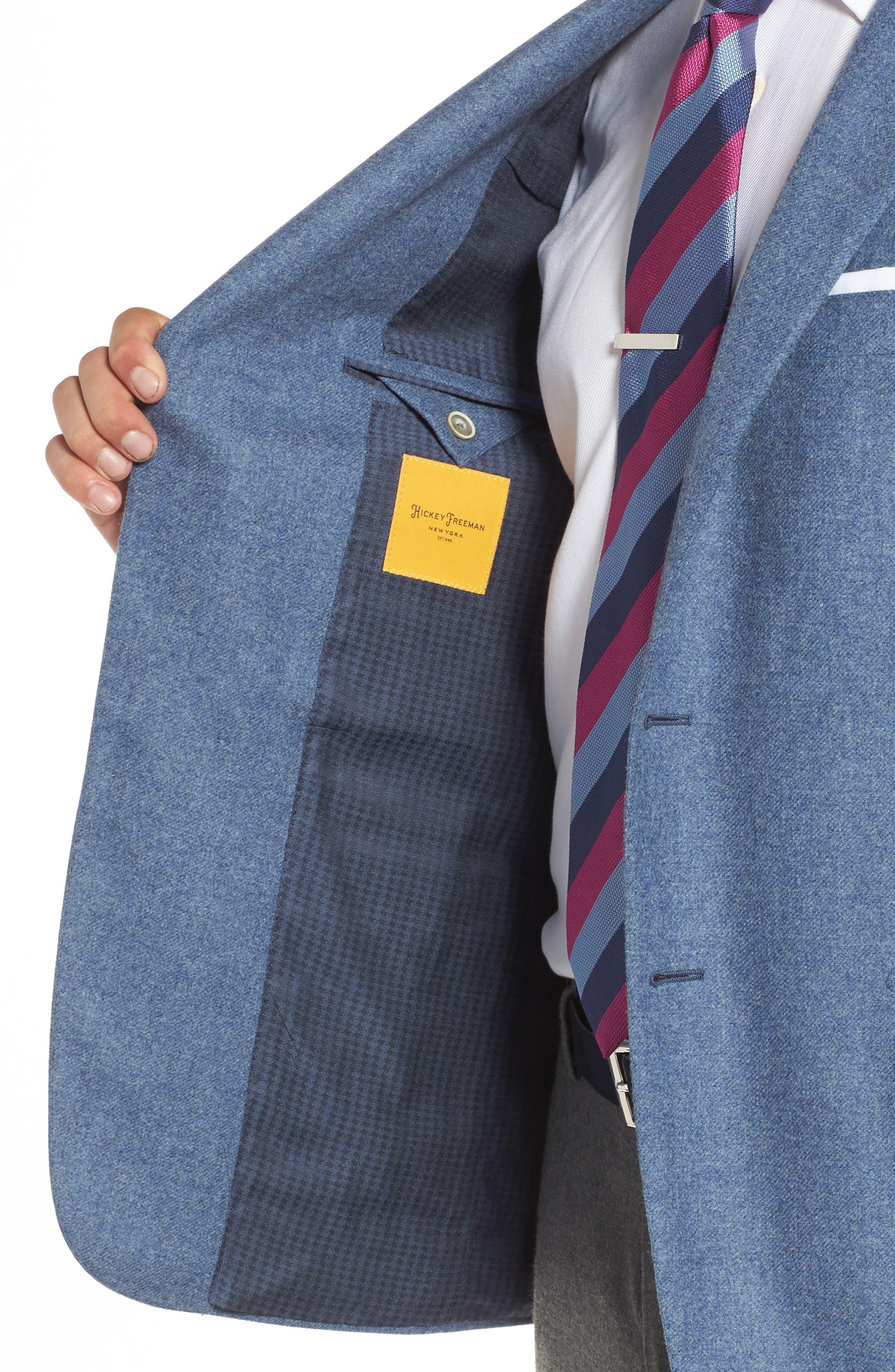 Beacon Classic Fit Wool & Cashmere Blazer,                             Alternate thumbnail 4, color,                             450