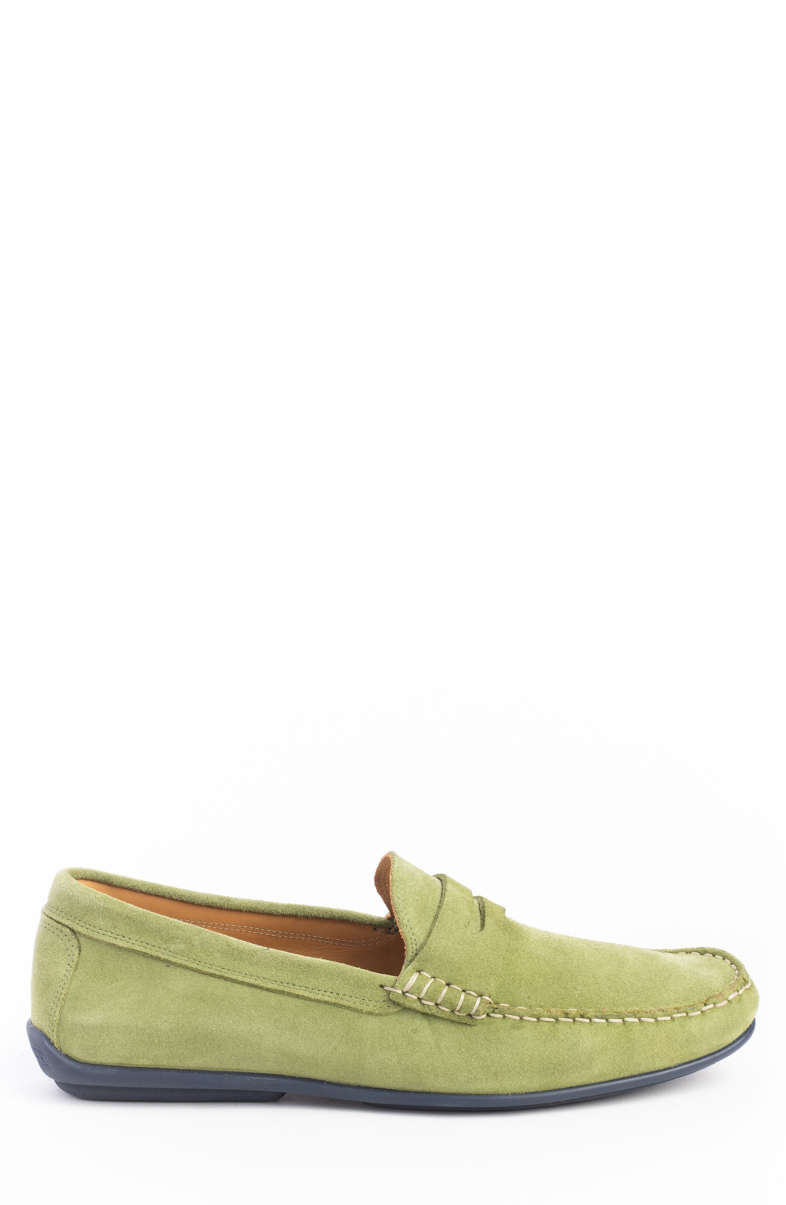 'Parkers' Penny Loafer,                             Alternate thumbnail 3, color,                             SPRING GREEN