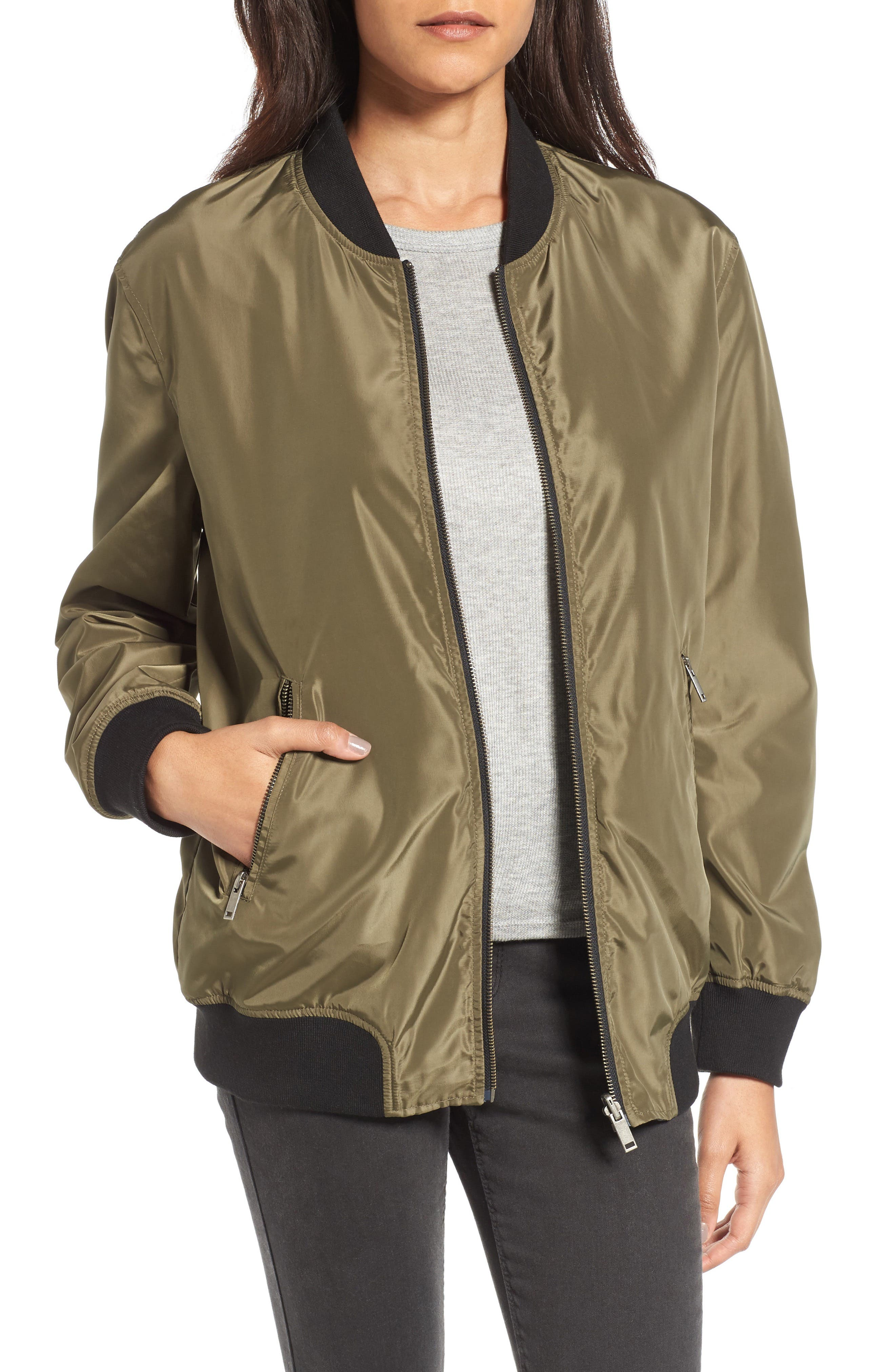 Reversible Bomber Jacket,                         Main,                         color, 311
