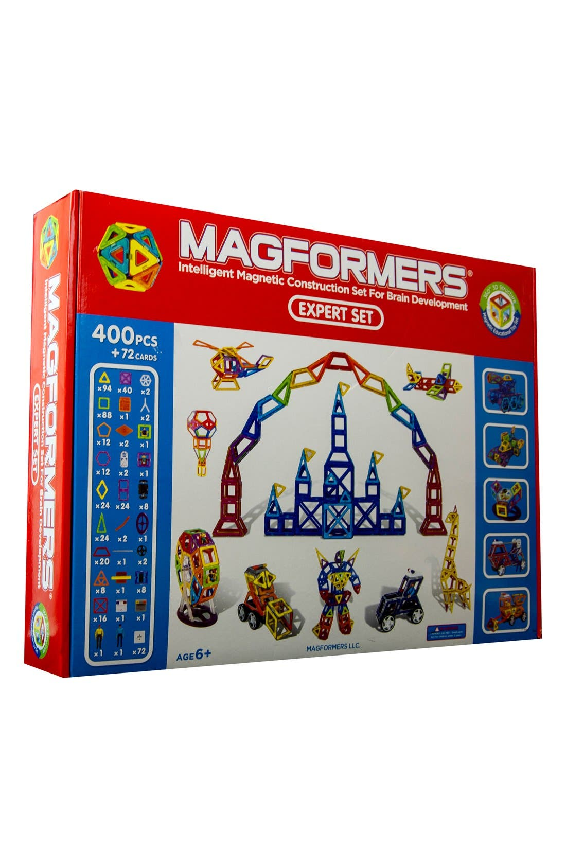 MAGFORMERS 'Expert' Construction Set, Main, color, 960