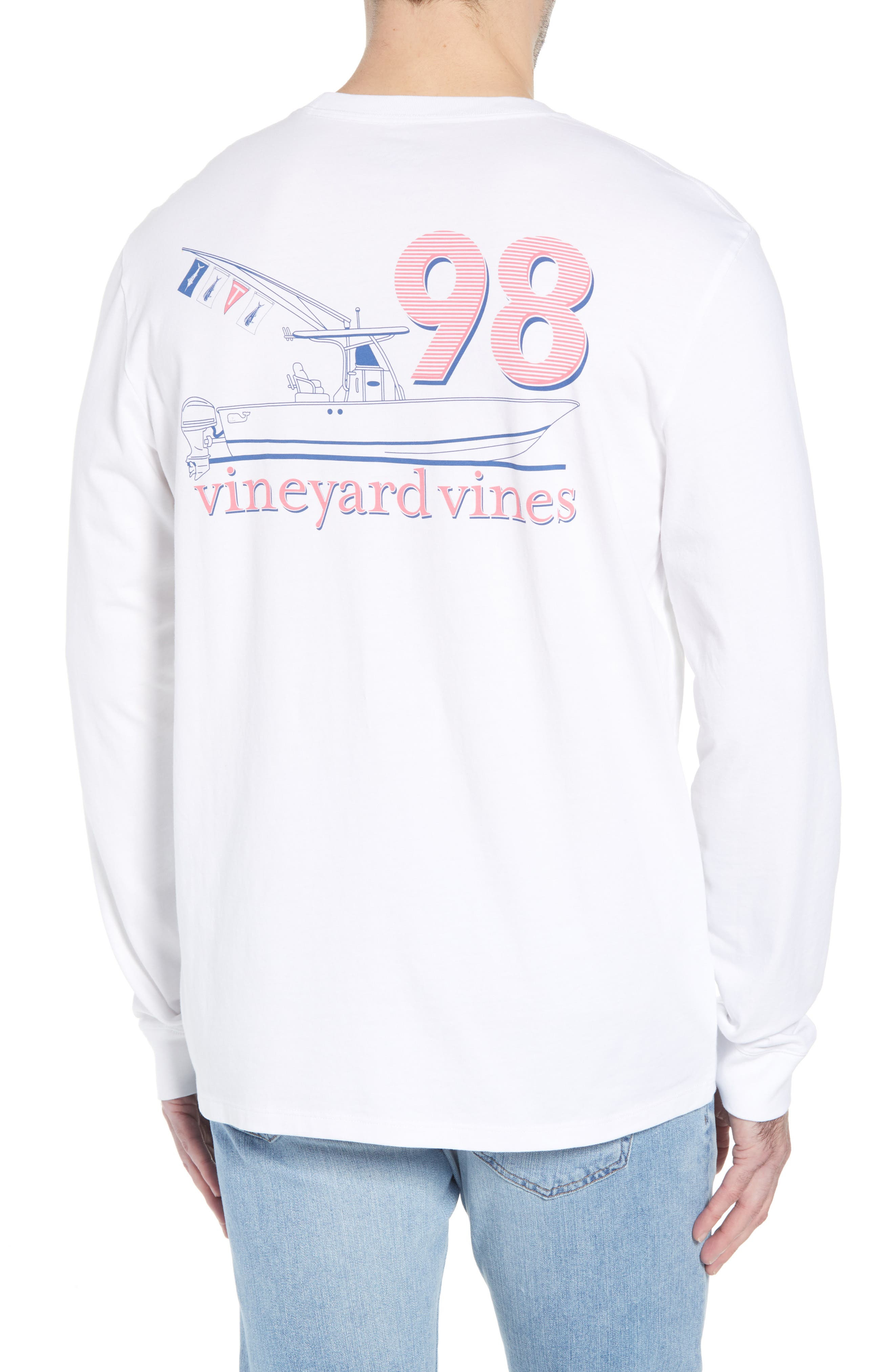Sportfisher Regular Fit Crewneck T-Shirt,                             Alternate thumbnail 2, color,                             100