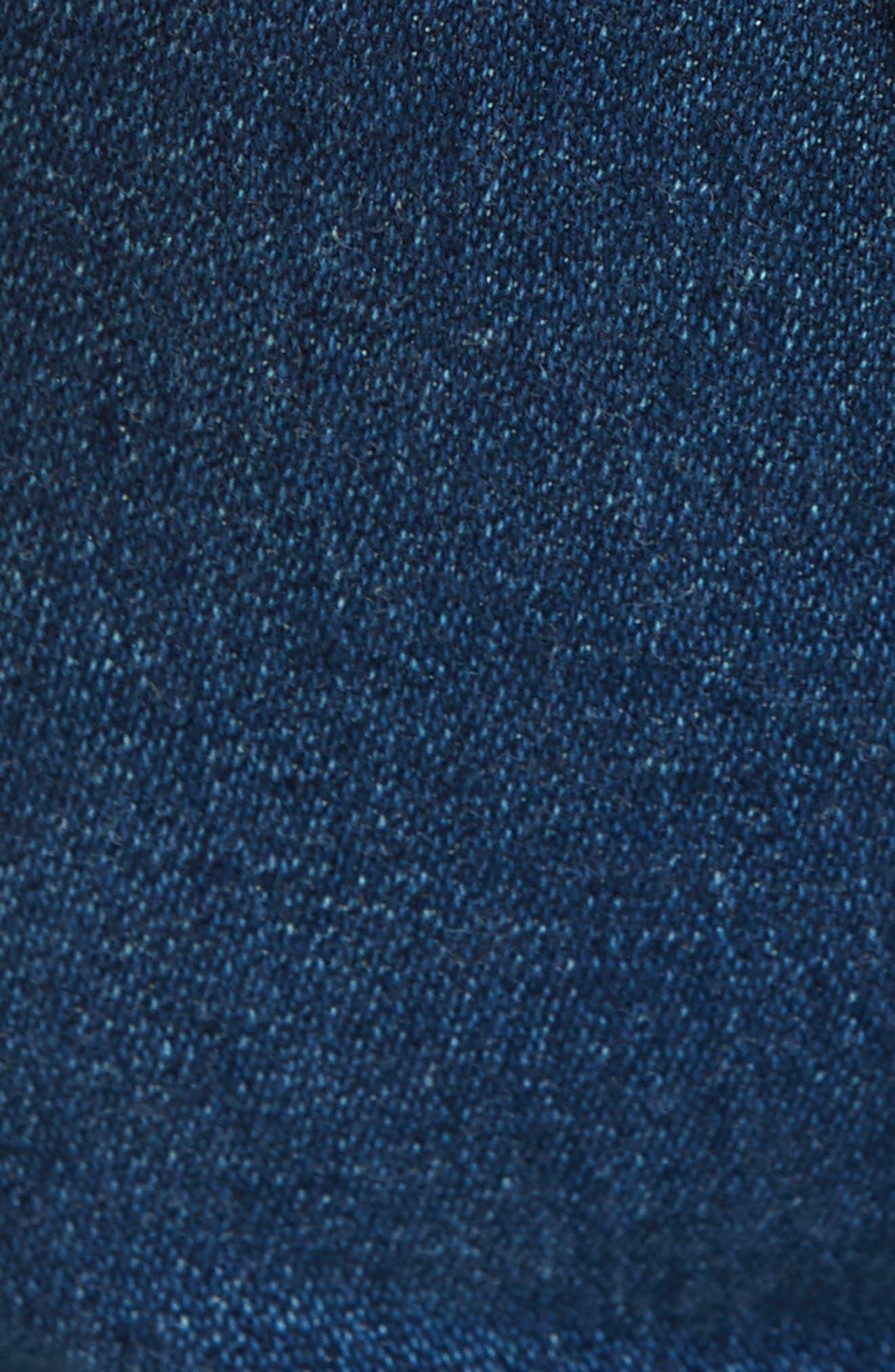 RAG & BONE,                             Justine High Waist Crop Wide Leg Jeans,                             Alternate thumbnail 6, color,                             410