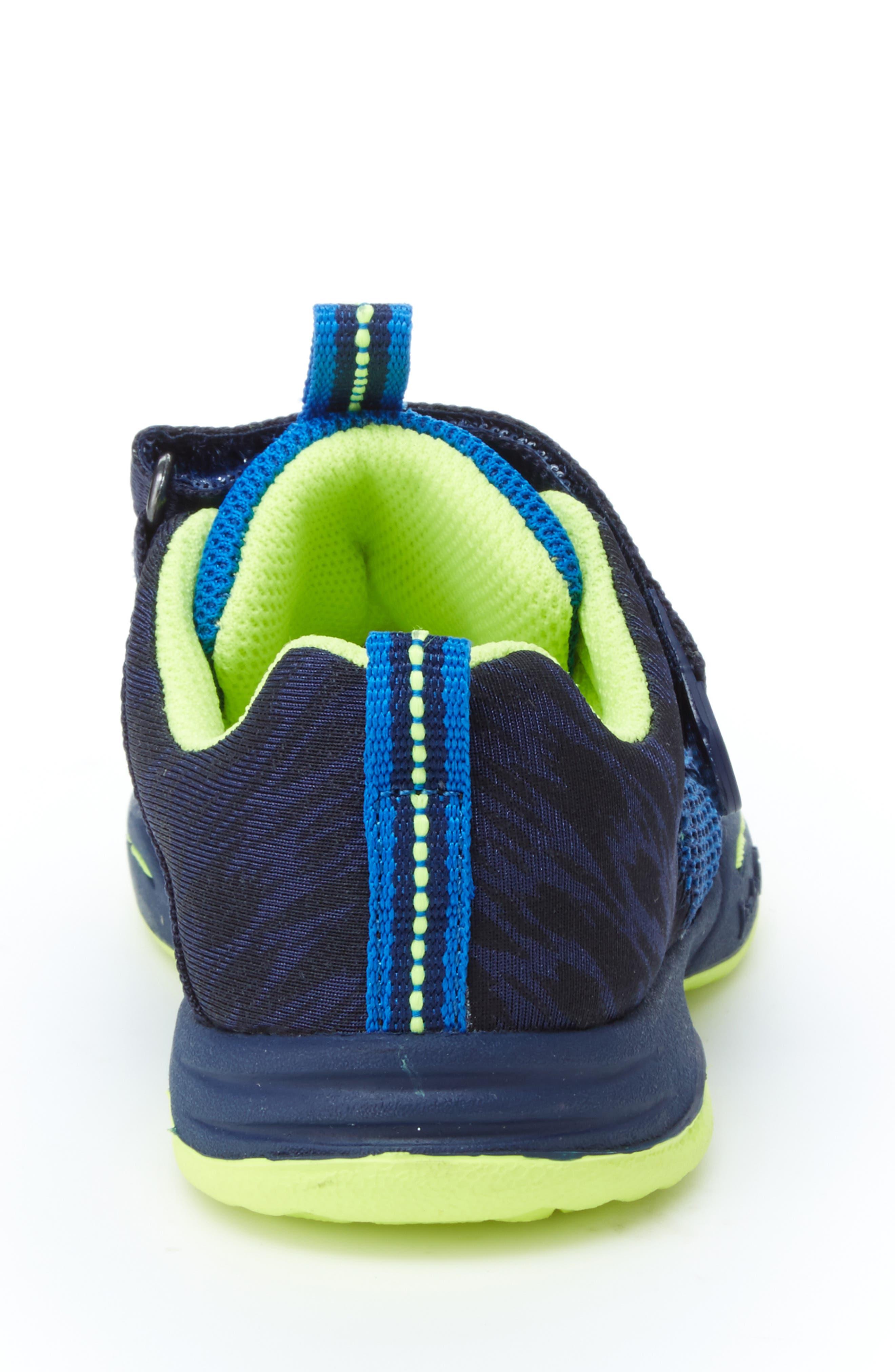 Talon Knit Sneaker,                             Alternate thumbnail 9, color,                             NAVY TEXTILE