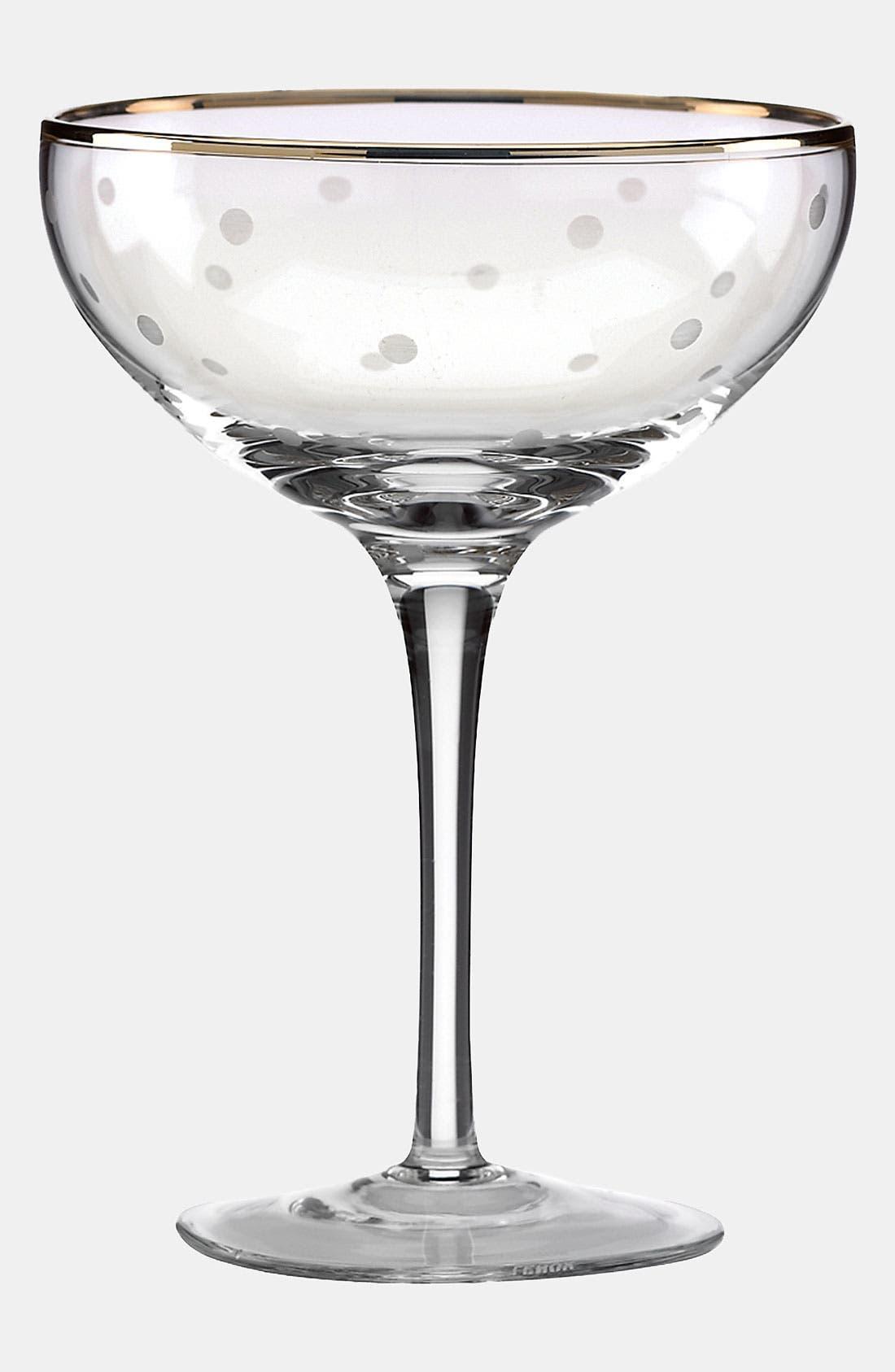 'larabee dot fête - mini' champagne saucer,                             Alternate thumbnail 2, color,                             960