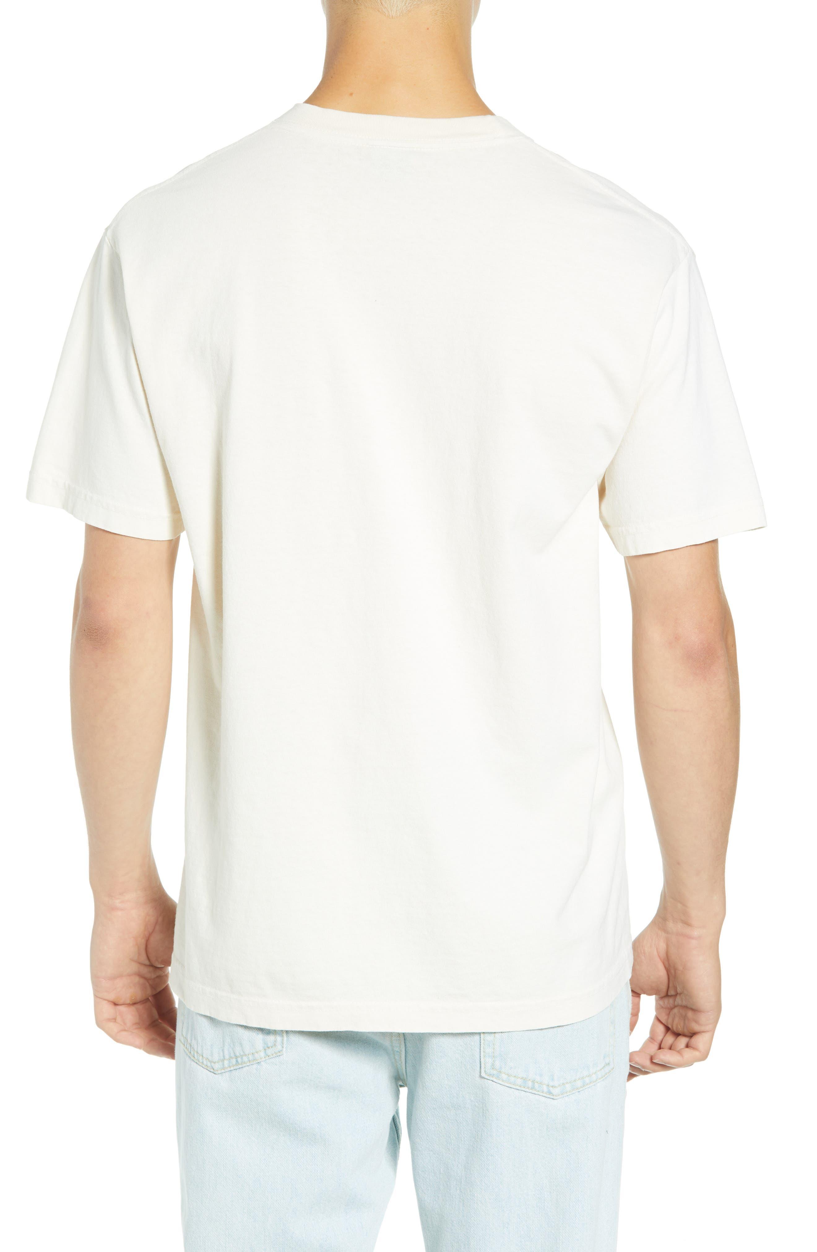 Slap On Box T-Shirt,                             Alternate thumbnail 2, color,                             CREAM