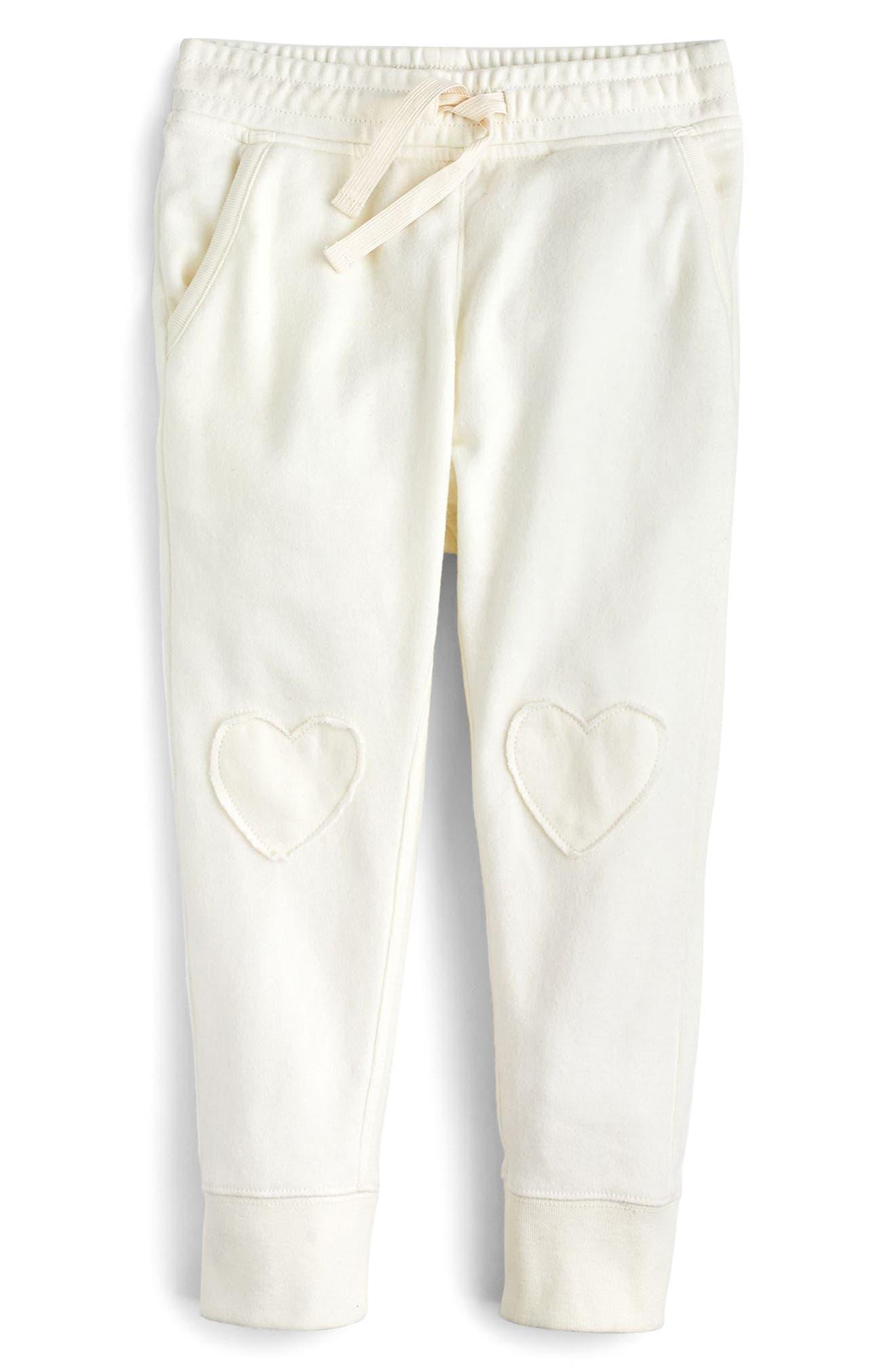 Heart Knee Sweatpants,                             Main thumbnail 2, color,