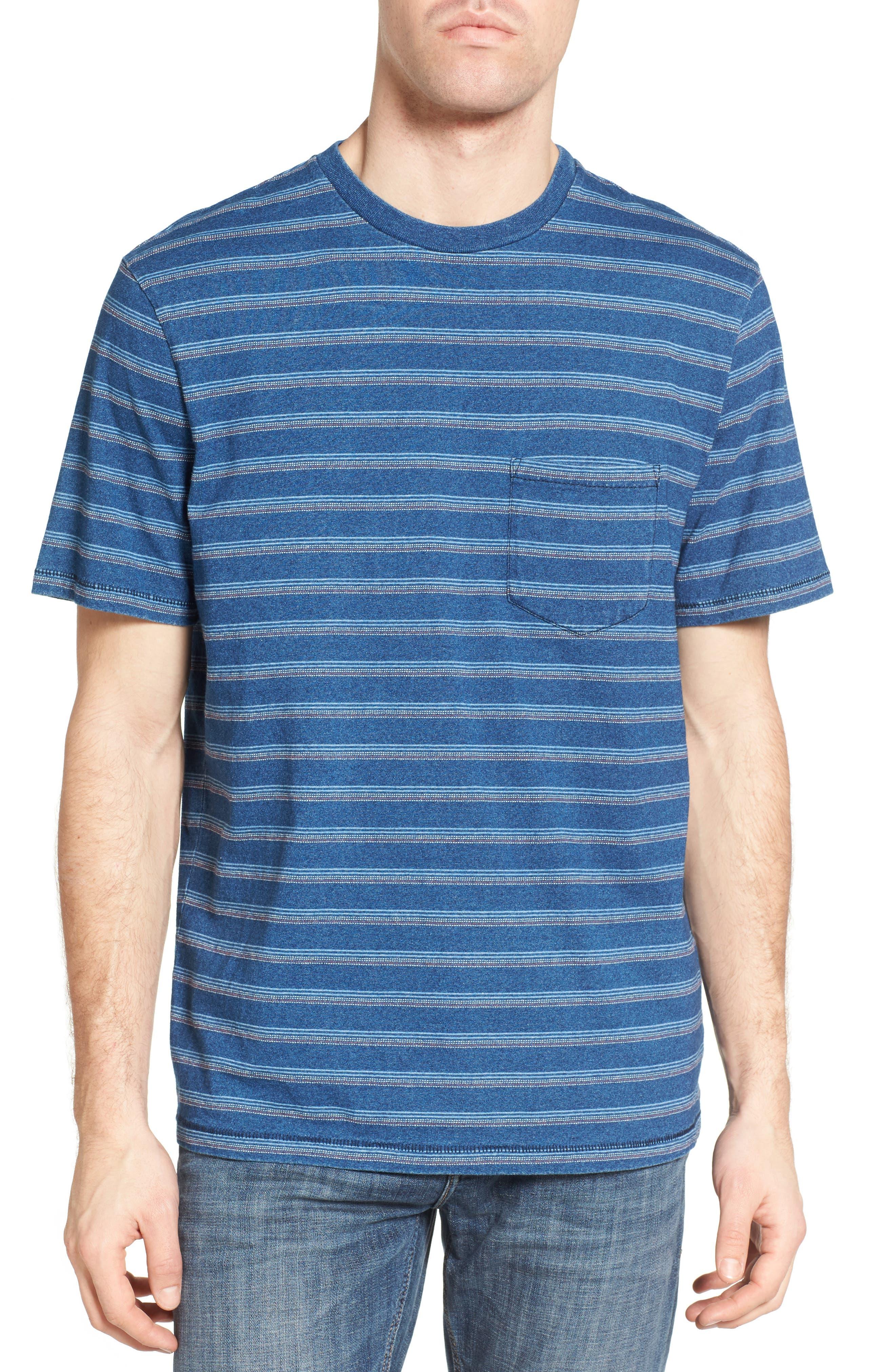 Stripe T-Shirt,                         Main,                         color, 405