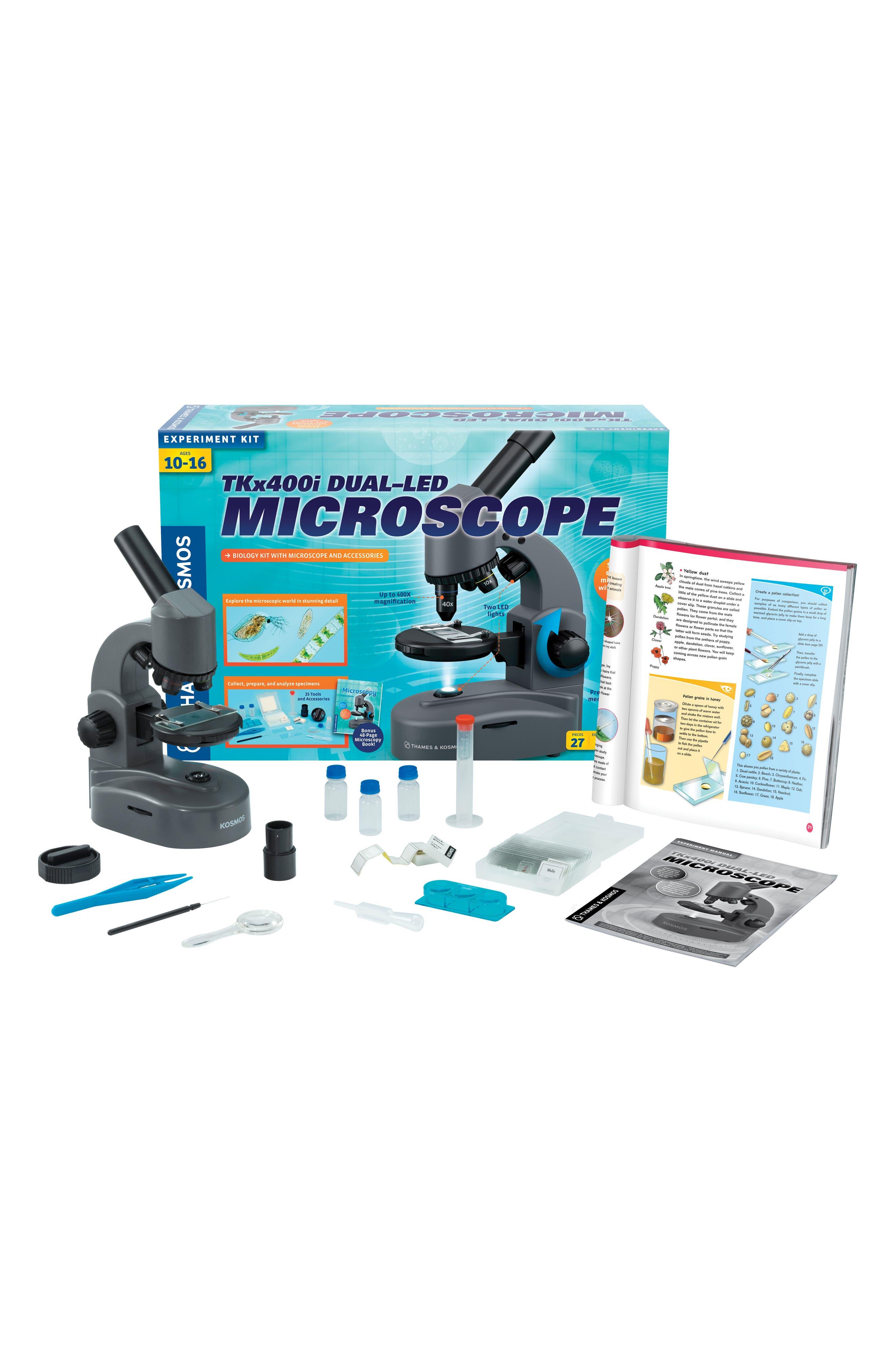 TKx400i Dual-LED Microscope,                             Alternate thumbnail 3, color,                             GREY