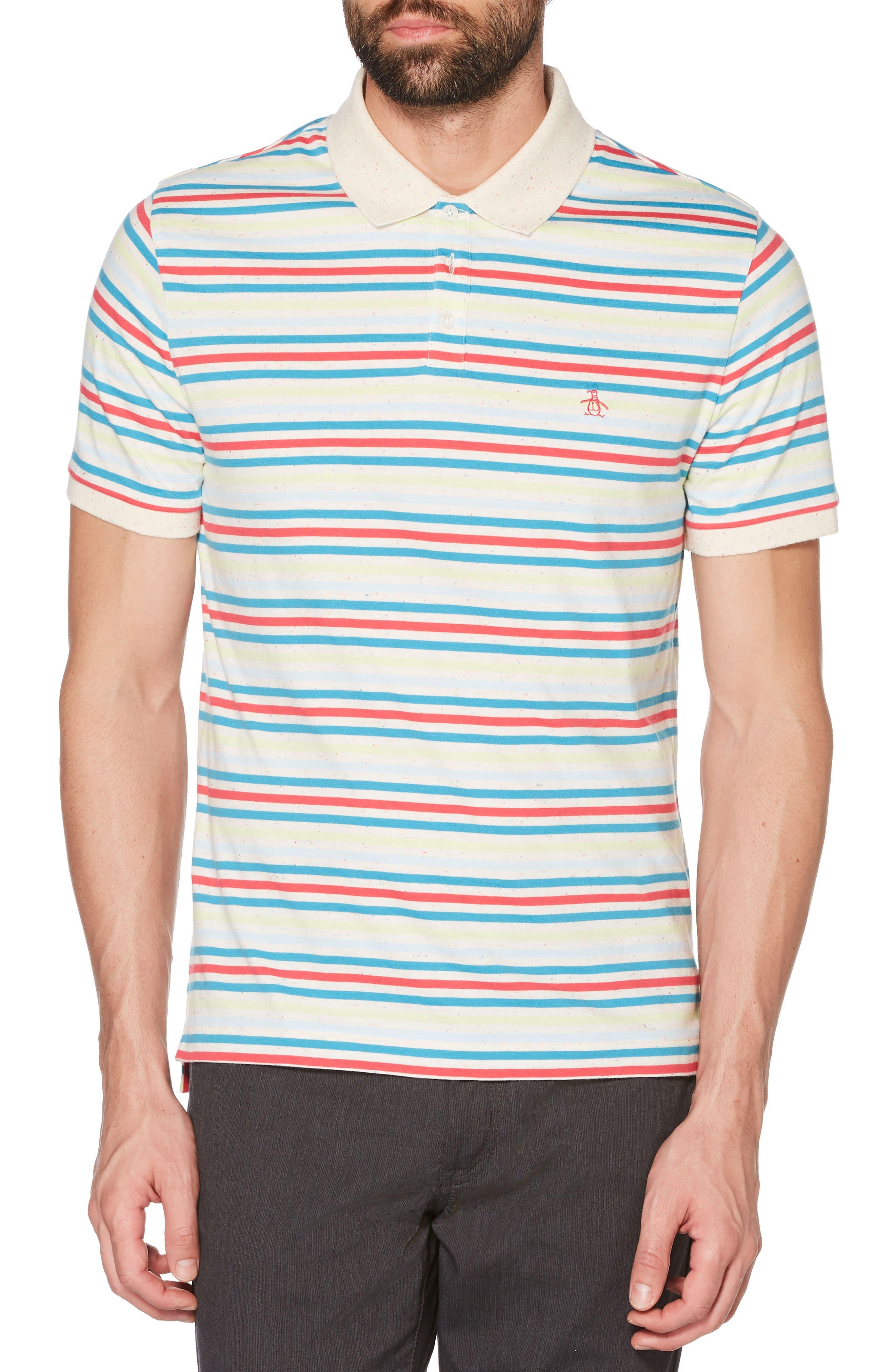 Stripe Polo,                             Main thumbnail 1, color,                             118