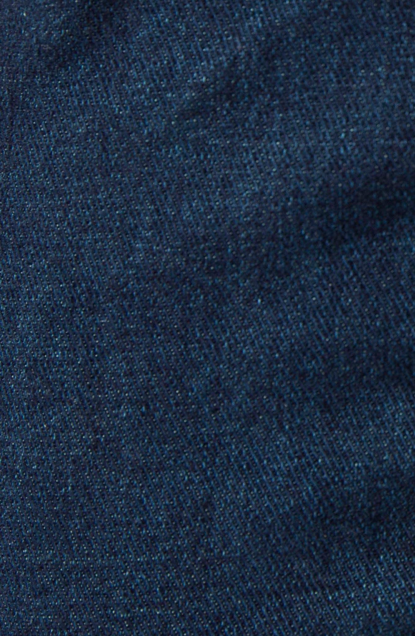 Moto Skinny Fit Jeans,                             Alternate thumbnail 5, color,                             403