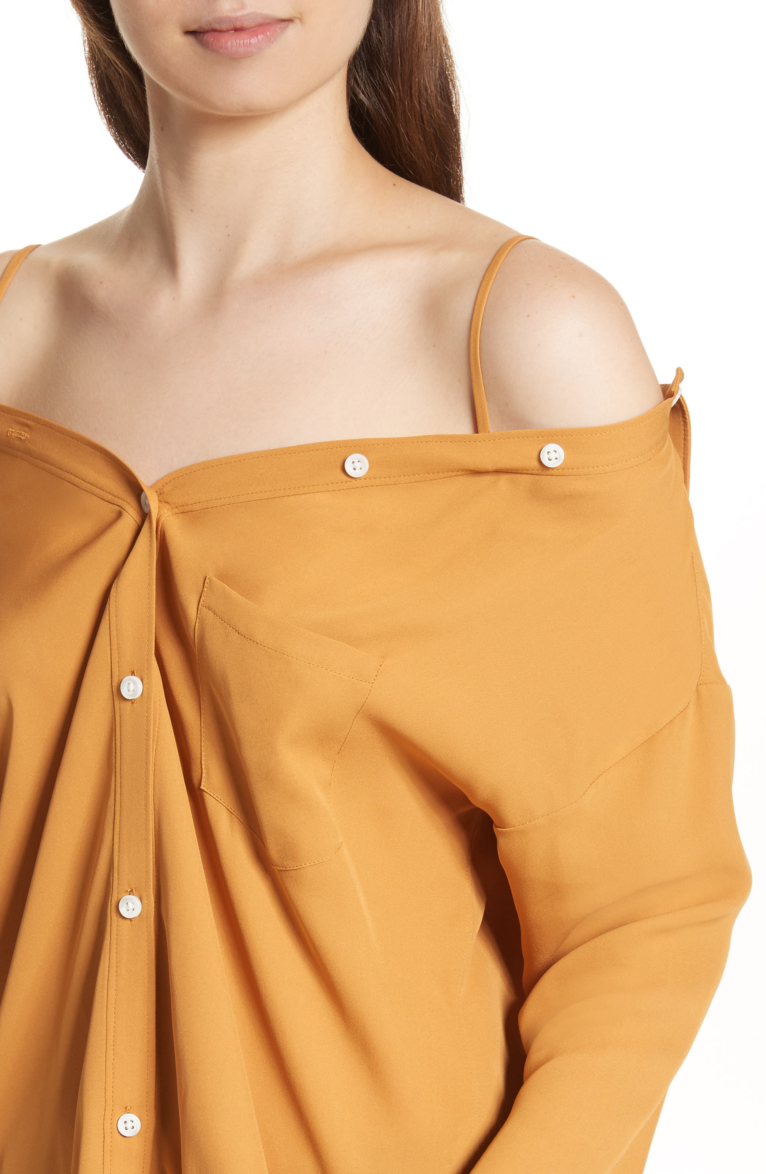 Tamalee Silk Shirt,                             Alternate thumbnail 15, color,