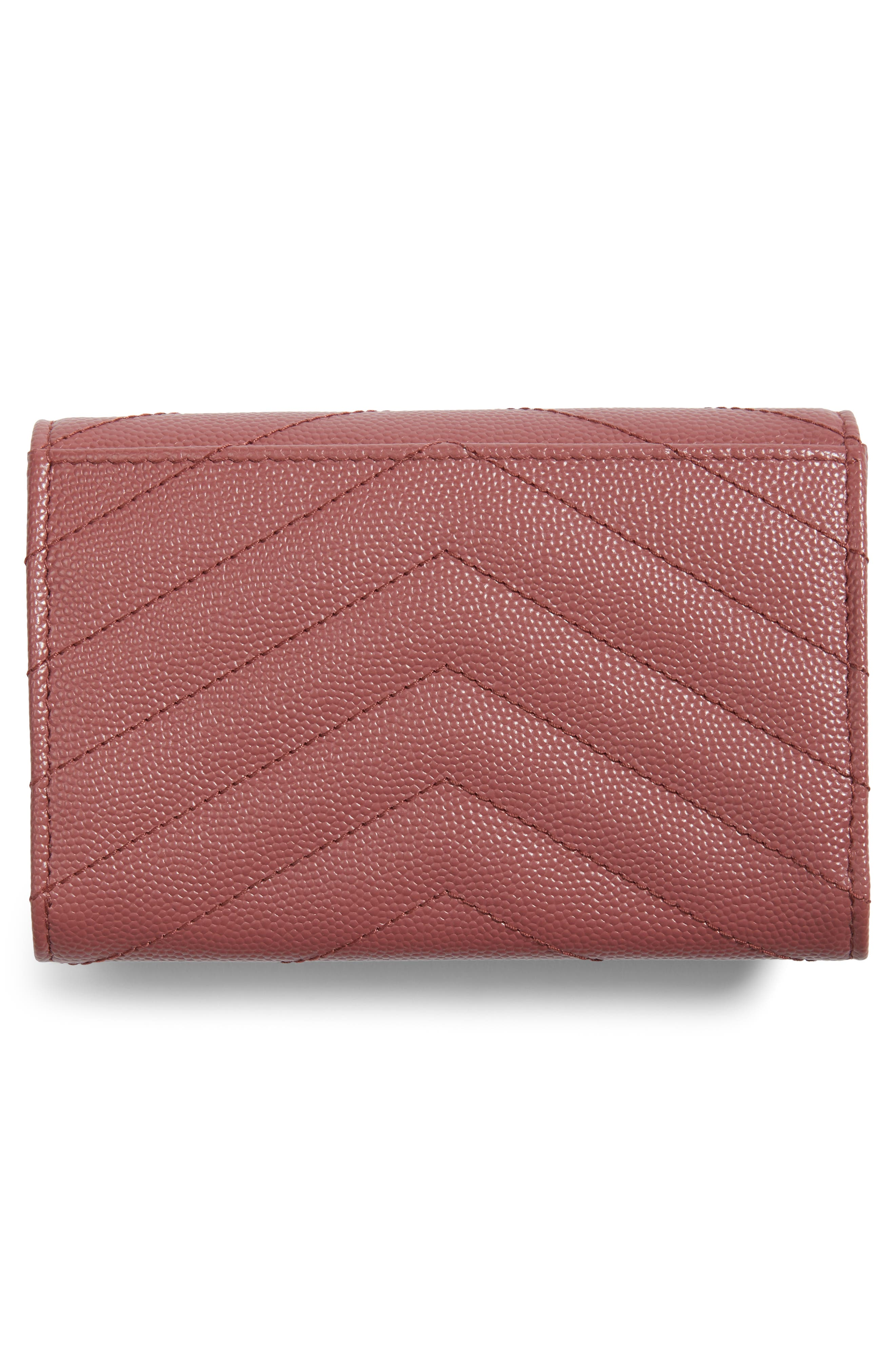 'Small Monogram' Leather French Wallet,                             Alternate thumbnail 25, color,
