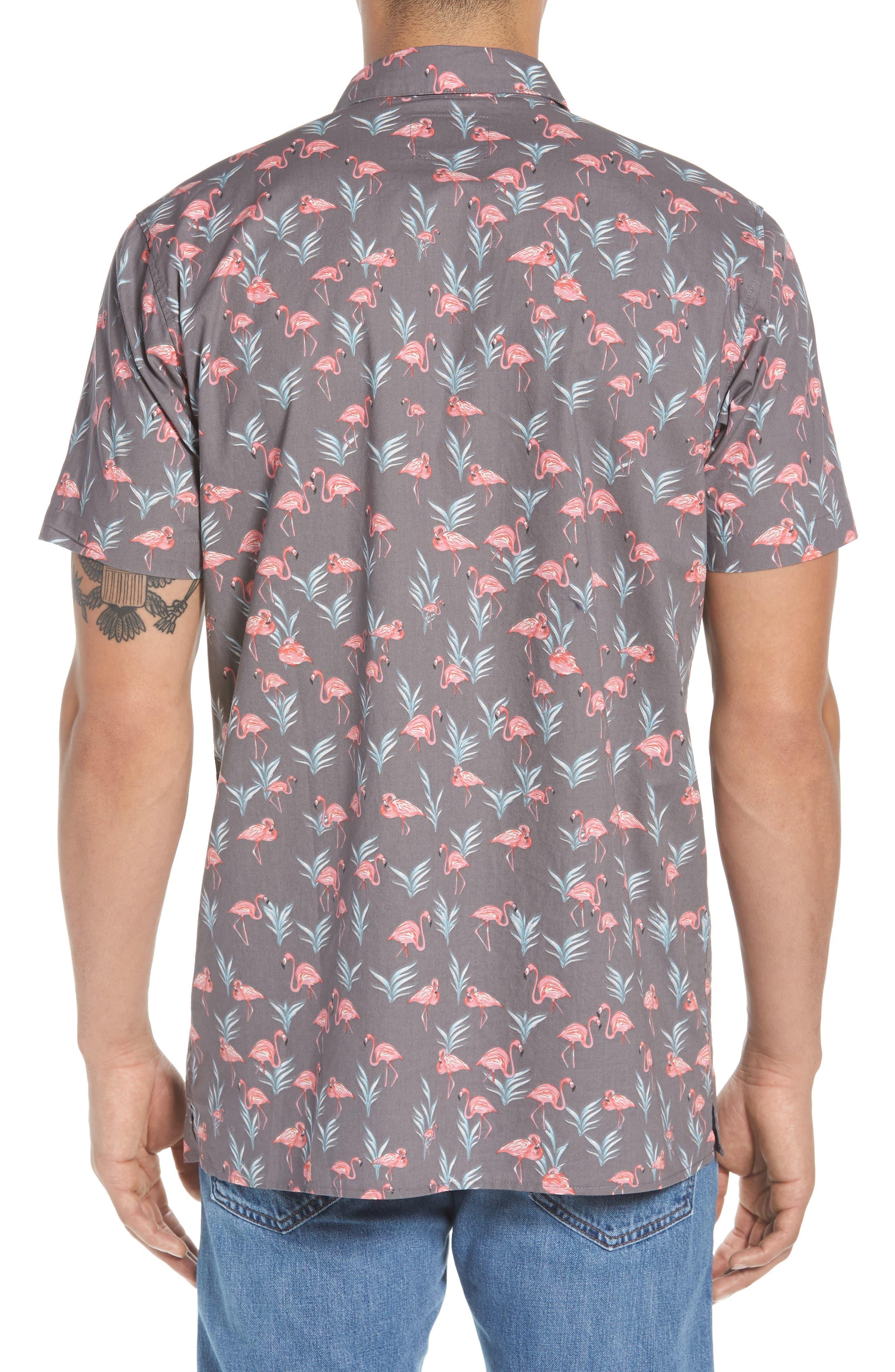 Flaminko Woven Shirt,                             Alternate thumbnail 2, color,                             001