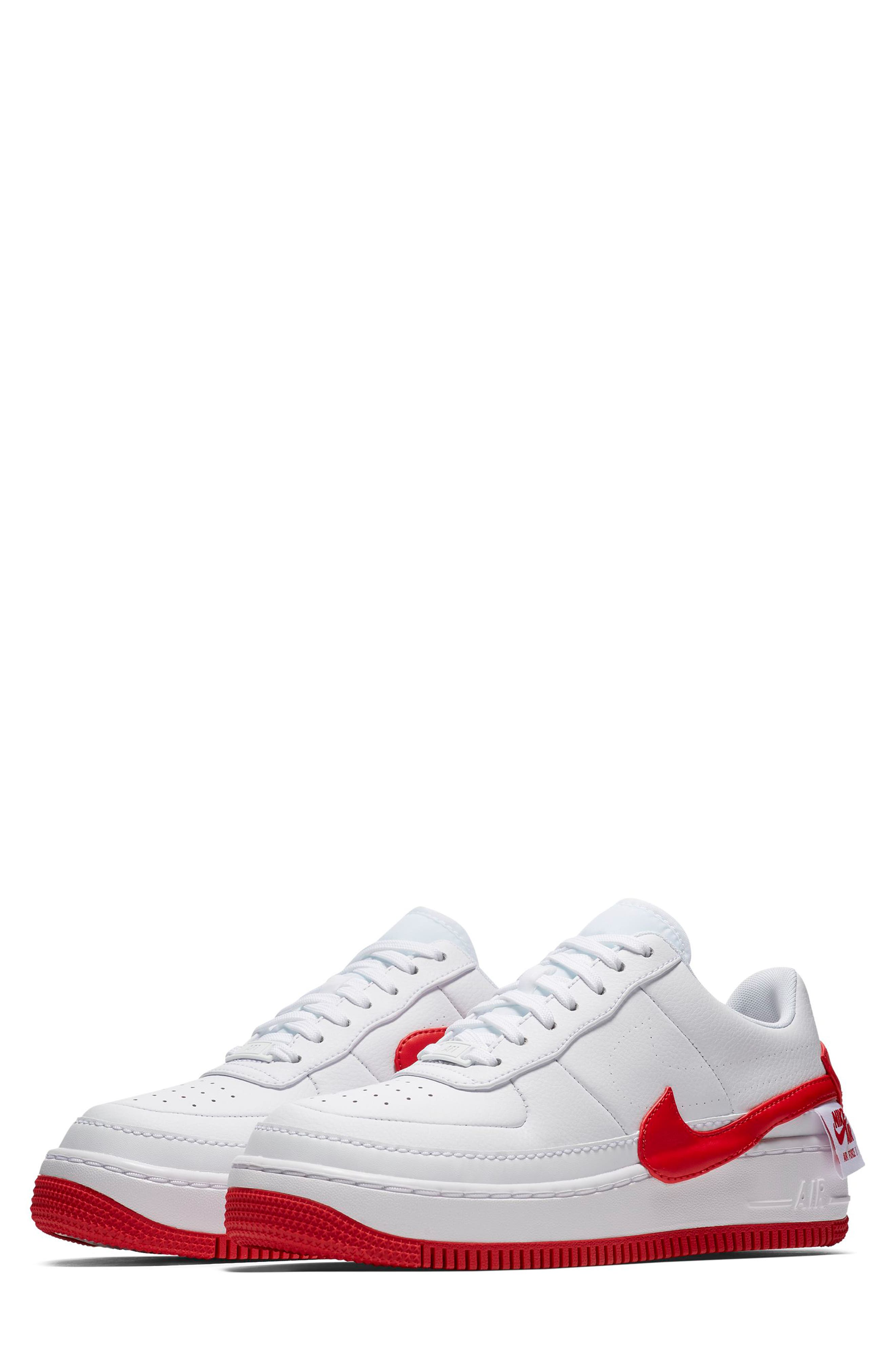 Air Force 1 Jester XX Sneaker,                             Main thumbnail 1, color,                             WHITE