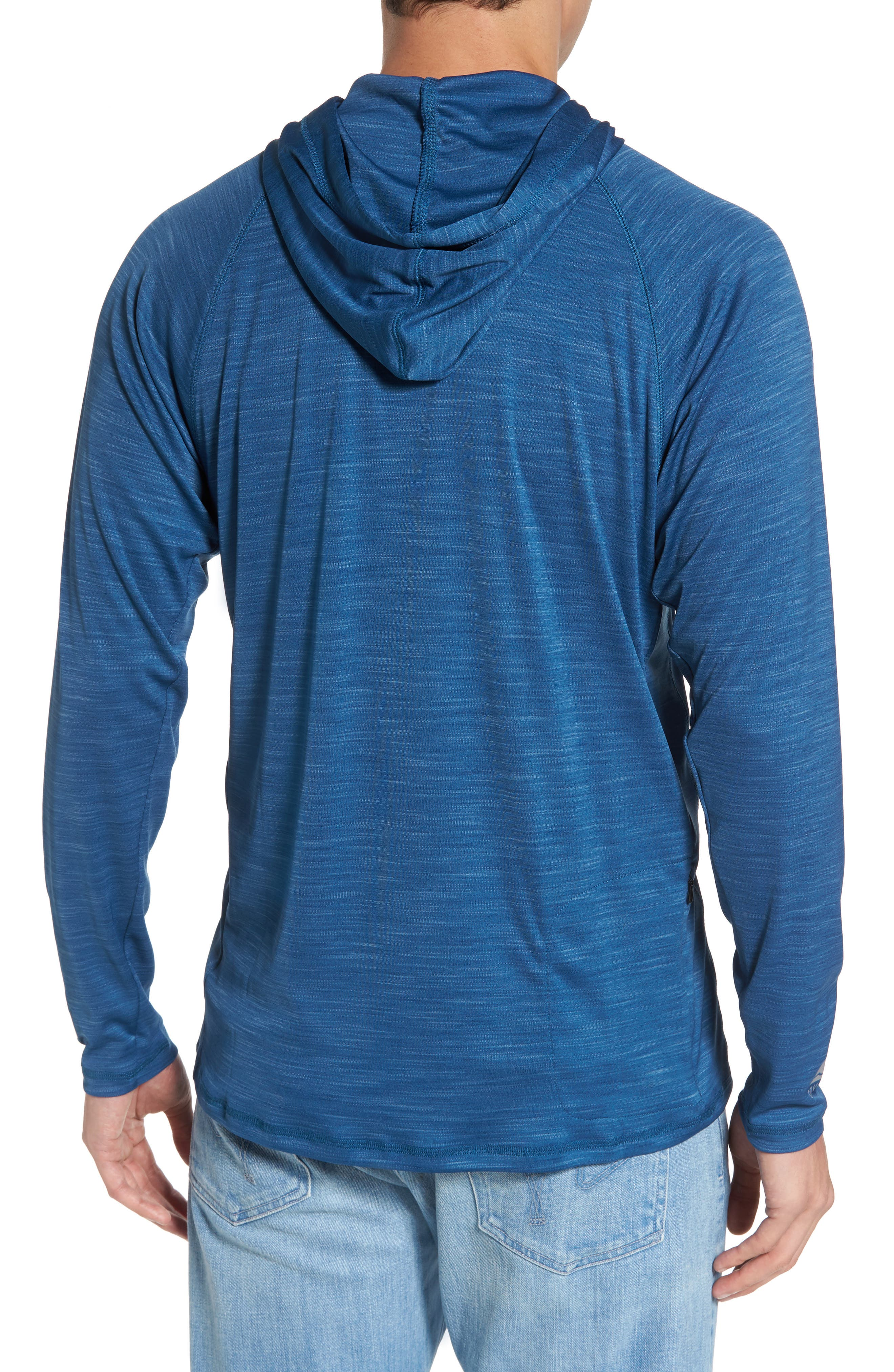 Undercover Hooded Long Sleeve Performance T-Shirt,                             Alternate thumbnail 4, color,