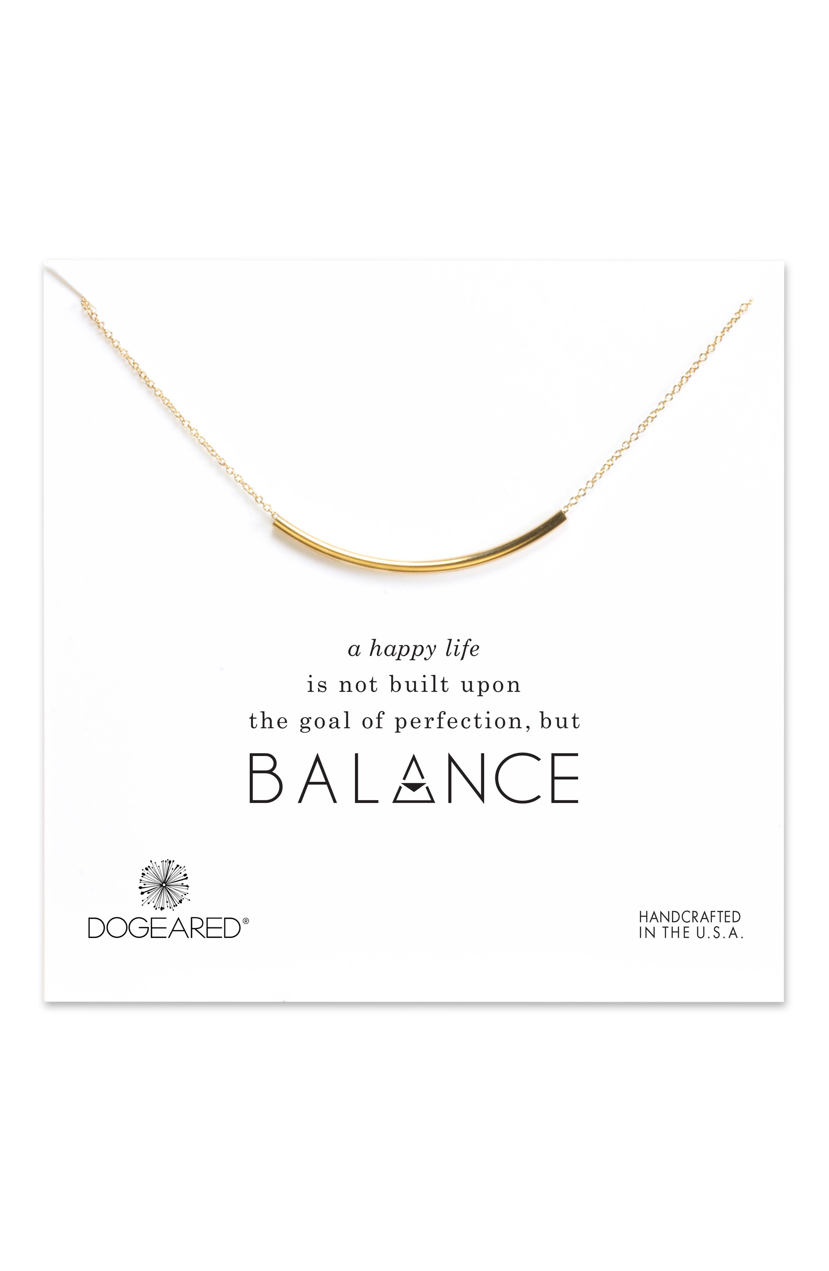 Balance Tube Chain Necklace,                             Alternate thumbnail 10, color,