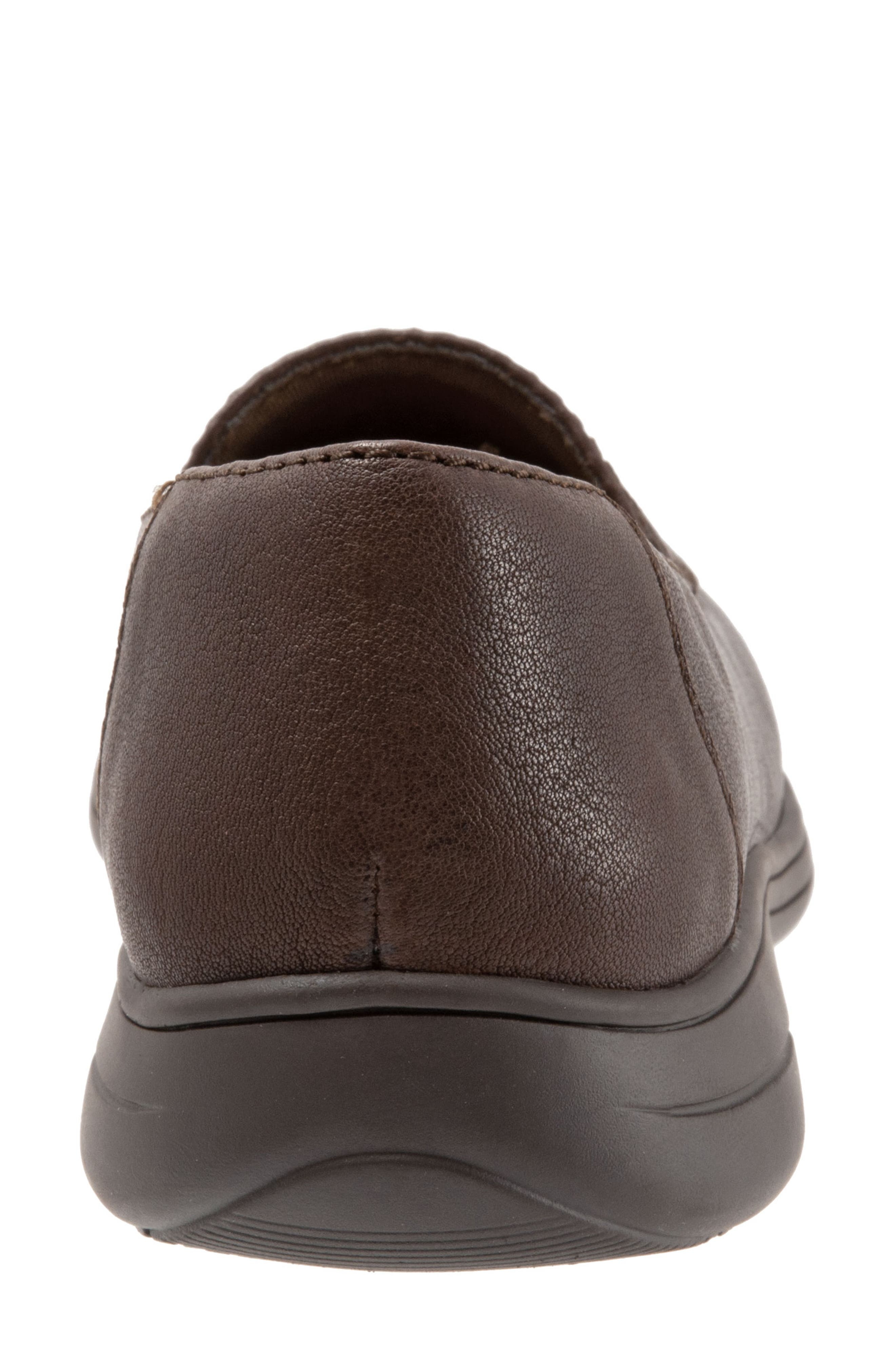 Jacob Loafer,                             Alternate thumbnail 7, color,                             DARK BROWN LEATHER