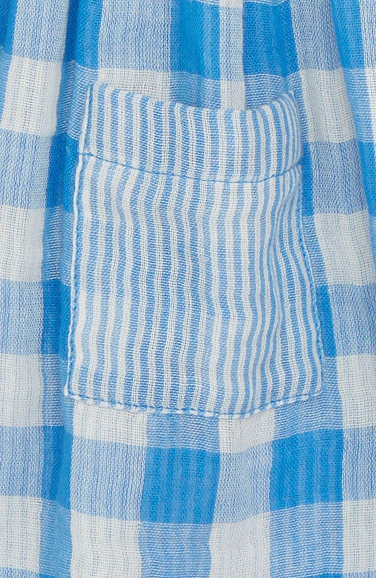 Gingham Woven Dress,                             Alternate thumbnail 2, color,                             420