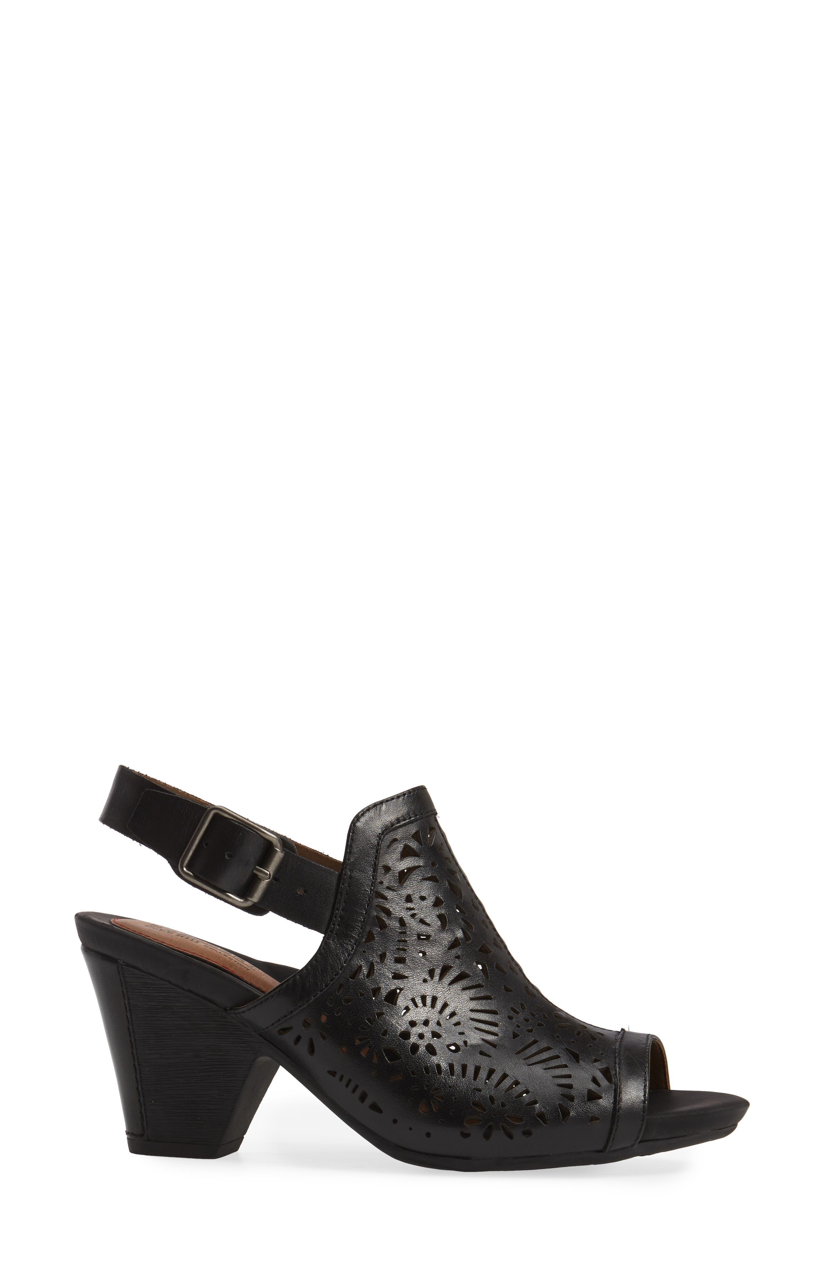 Tropez Block Heel Sandal,                             Alternate thumbnail 9, color,