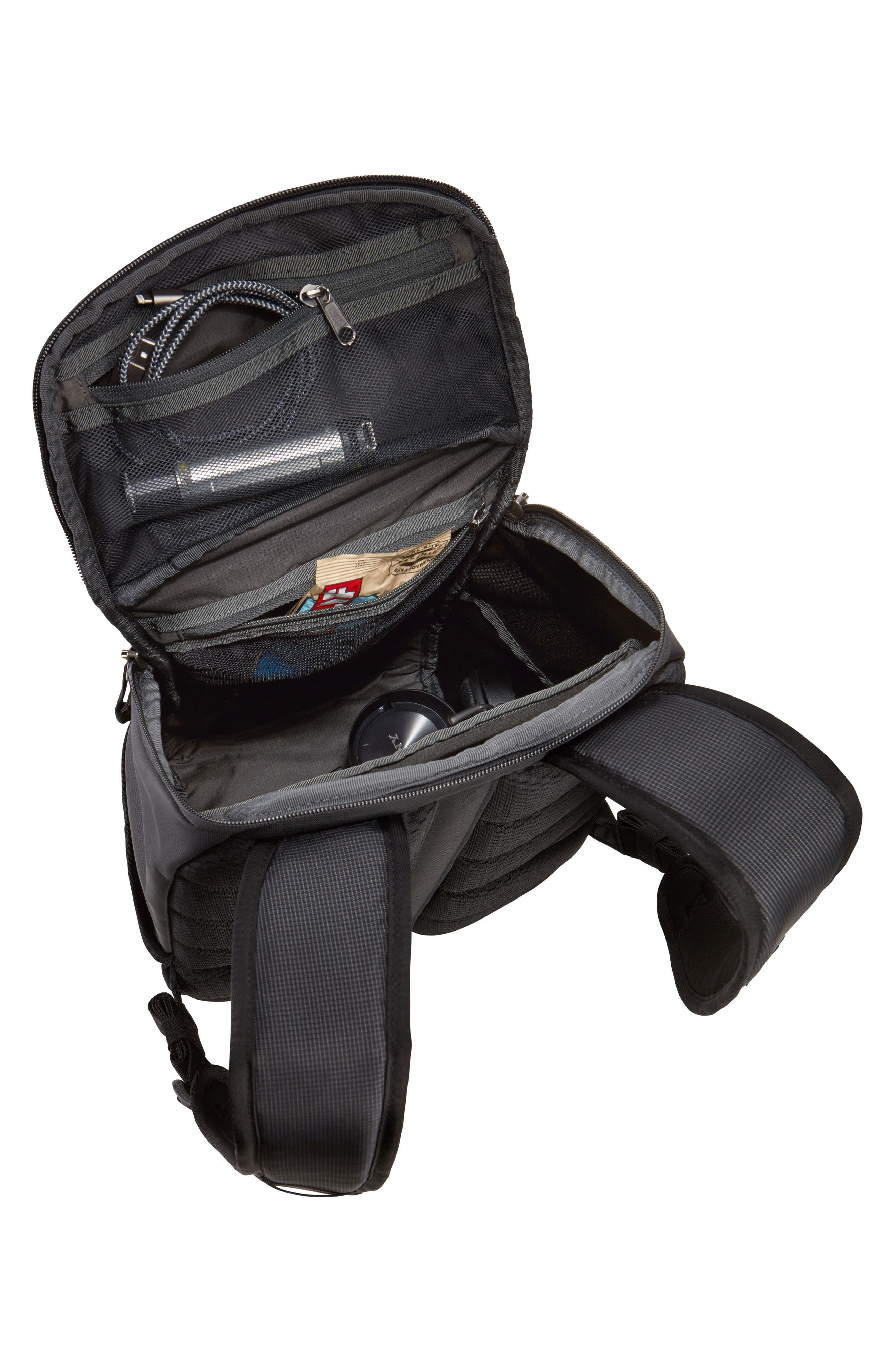 EnRoute Backpack,                             Alternate thumbnail 4, color,                             BLACK