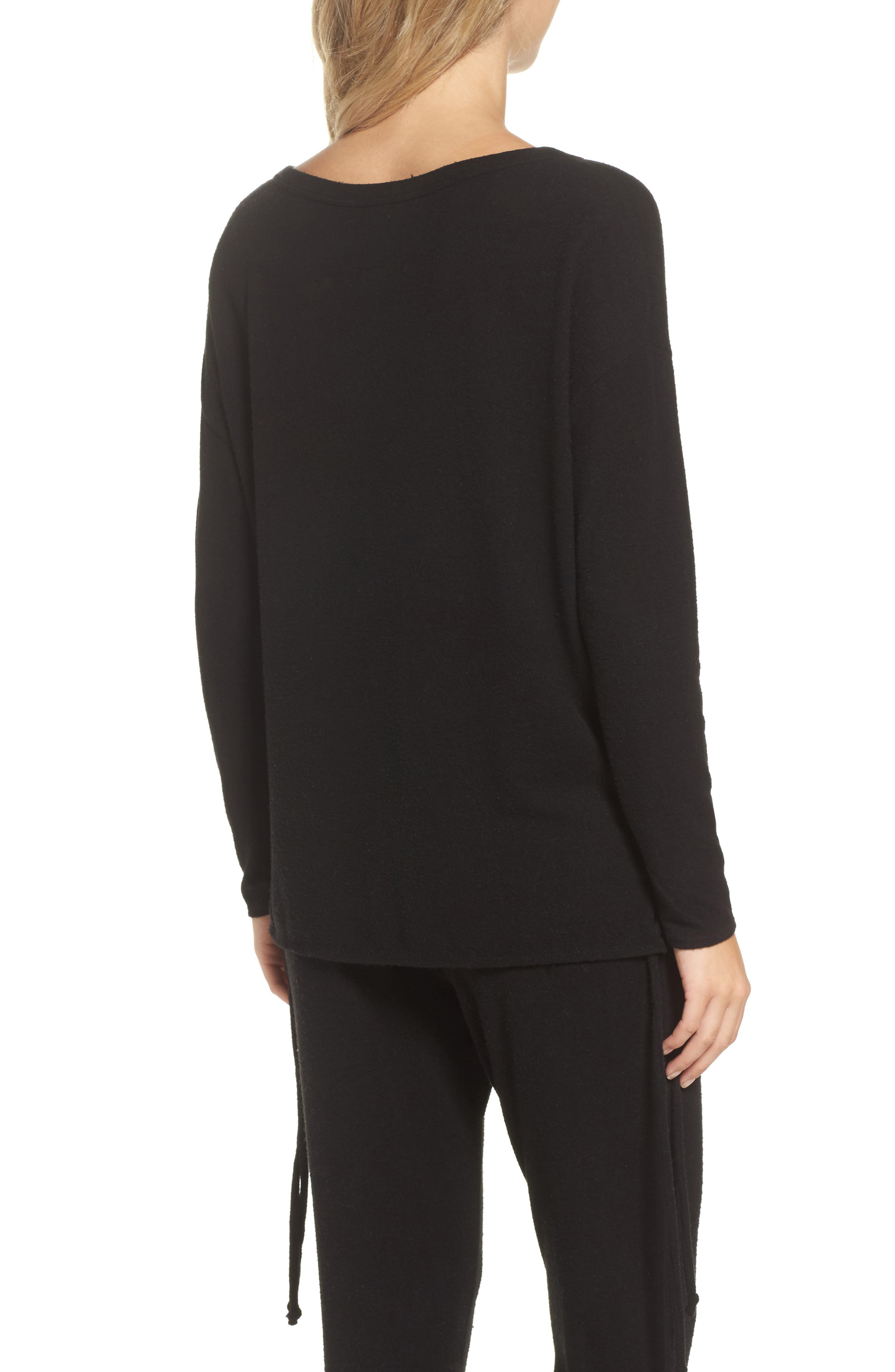 Lace-Up Side Pullover,                             Alternate thumbnail 2, color,                             003