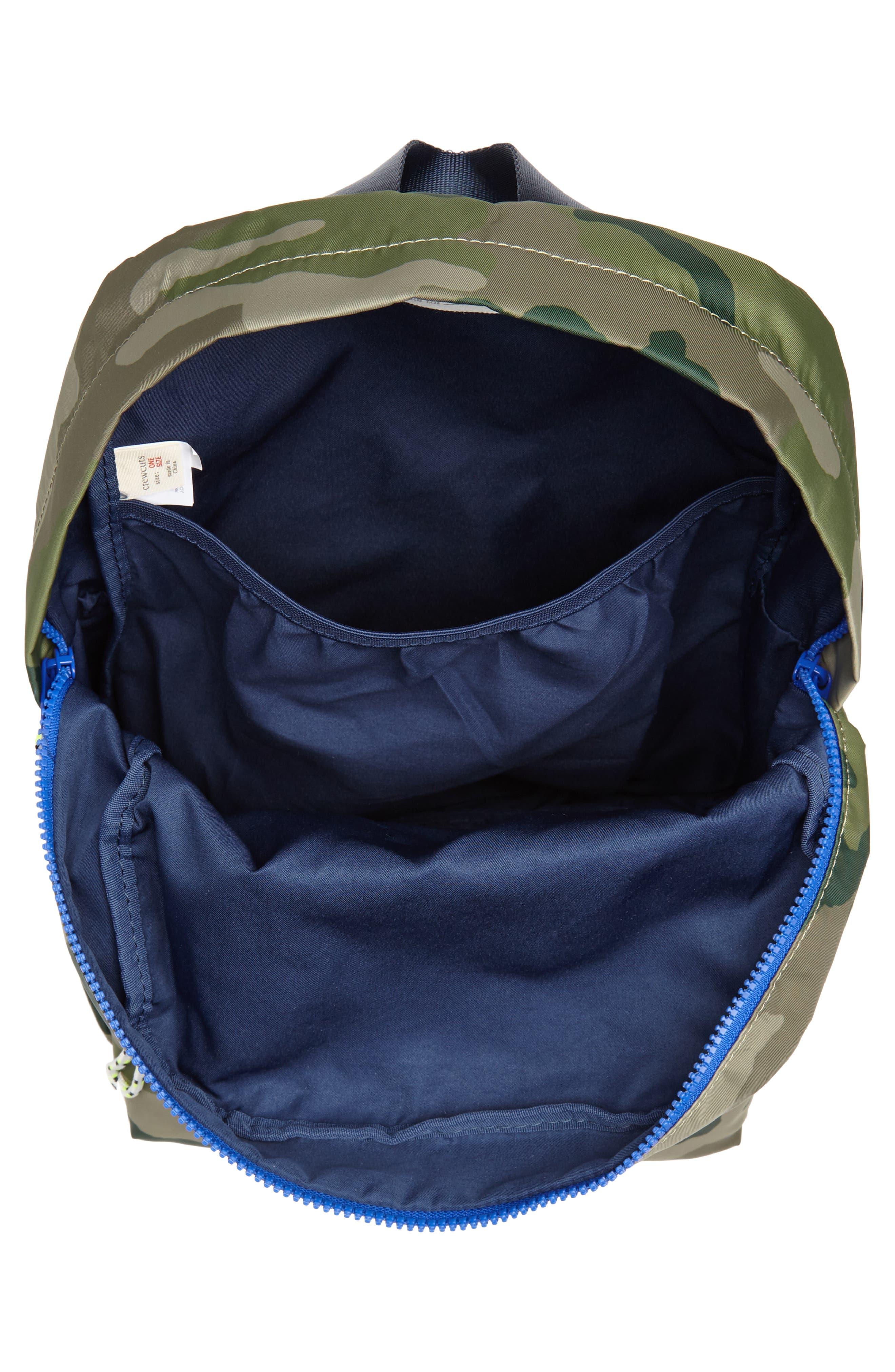 Camo Backpack,                             Alternate thumbnail 3, color,                             300