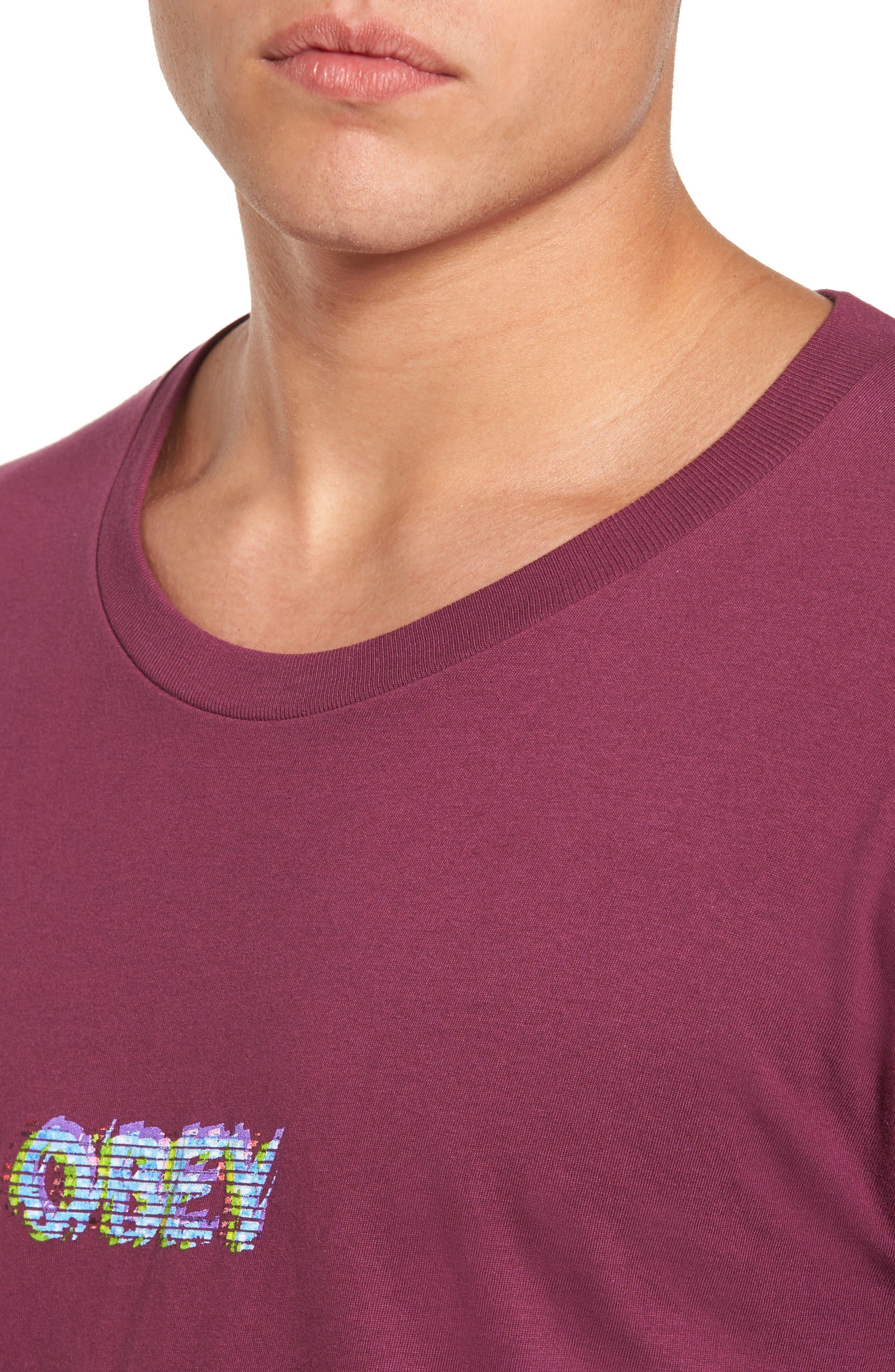 Creep Scan T-Shirt,                             Alternate thumbnail 4, color,                             930