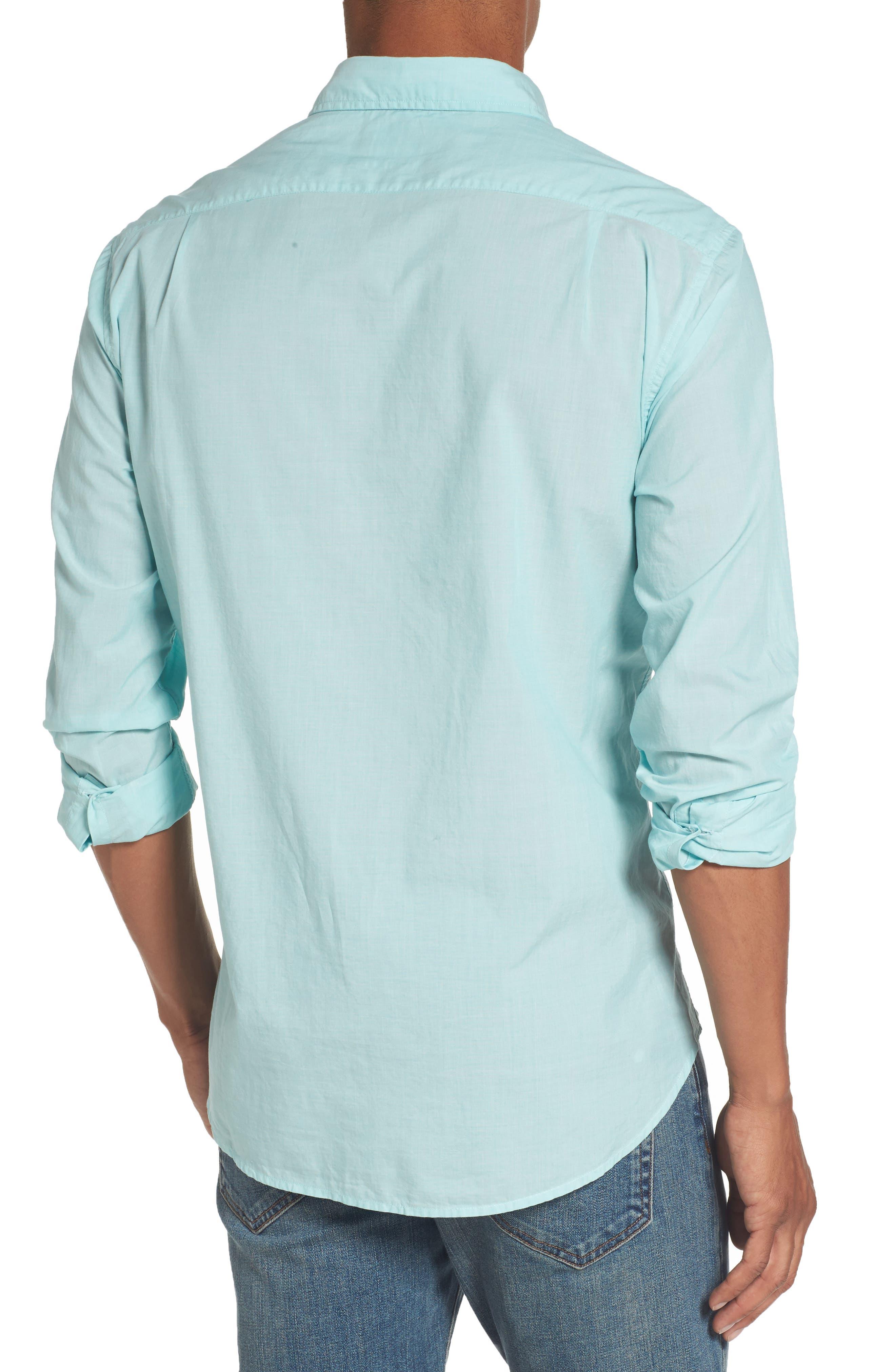 Slim Fit Summerweight Sport Shirt,                             Alternate thumbnail 2, color,                             400