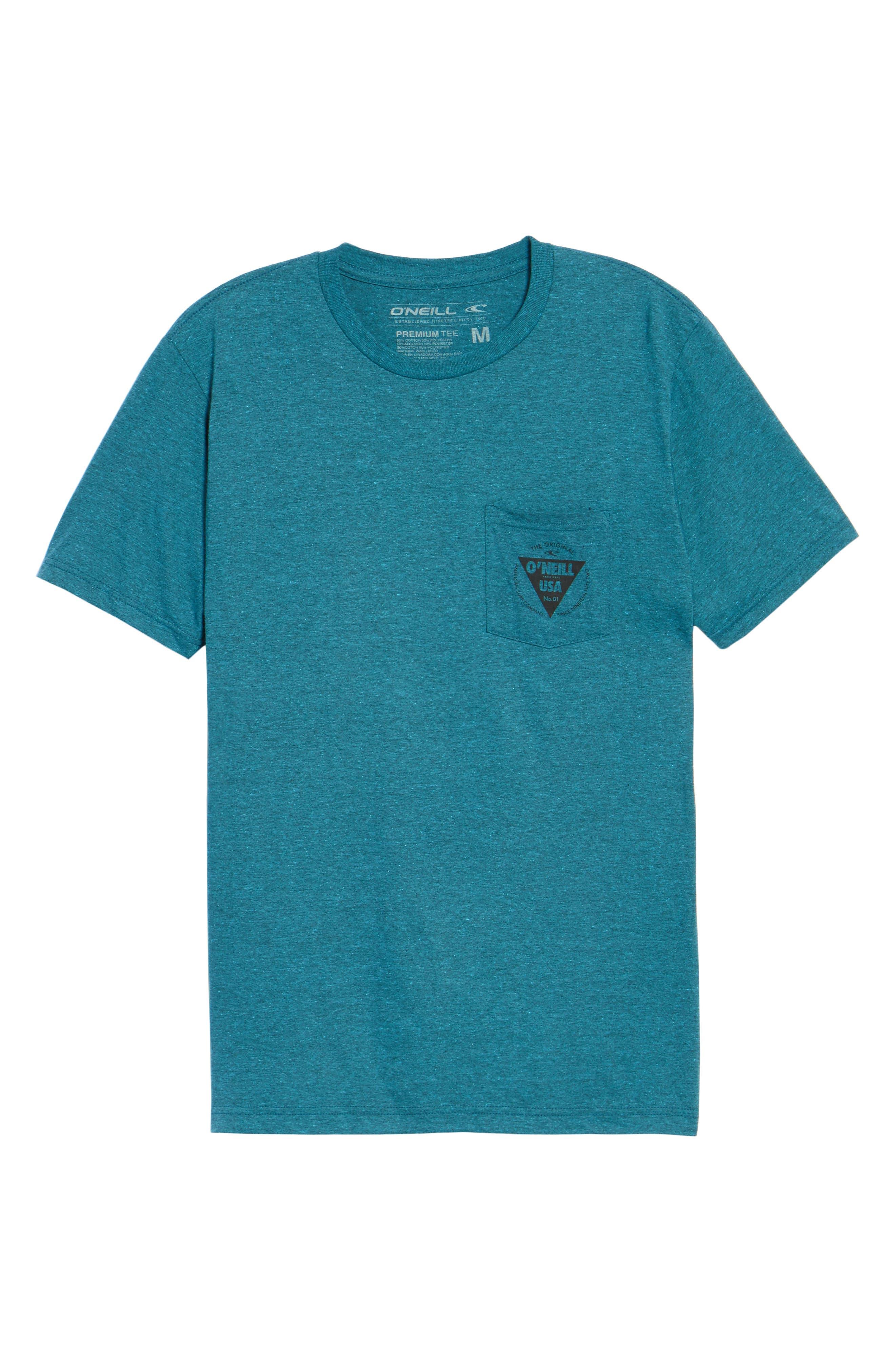 Diver Graphic Pocket T-Shirt,                             Alternate thumbnail 18, color,