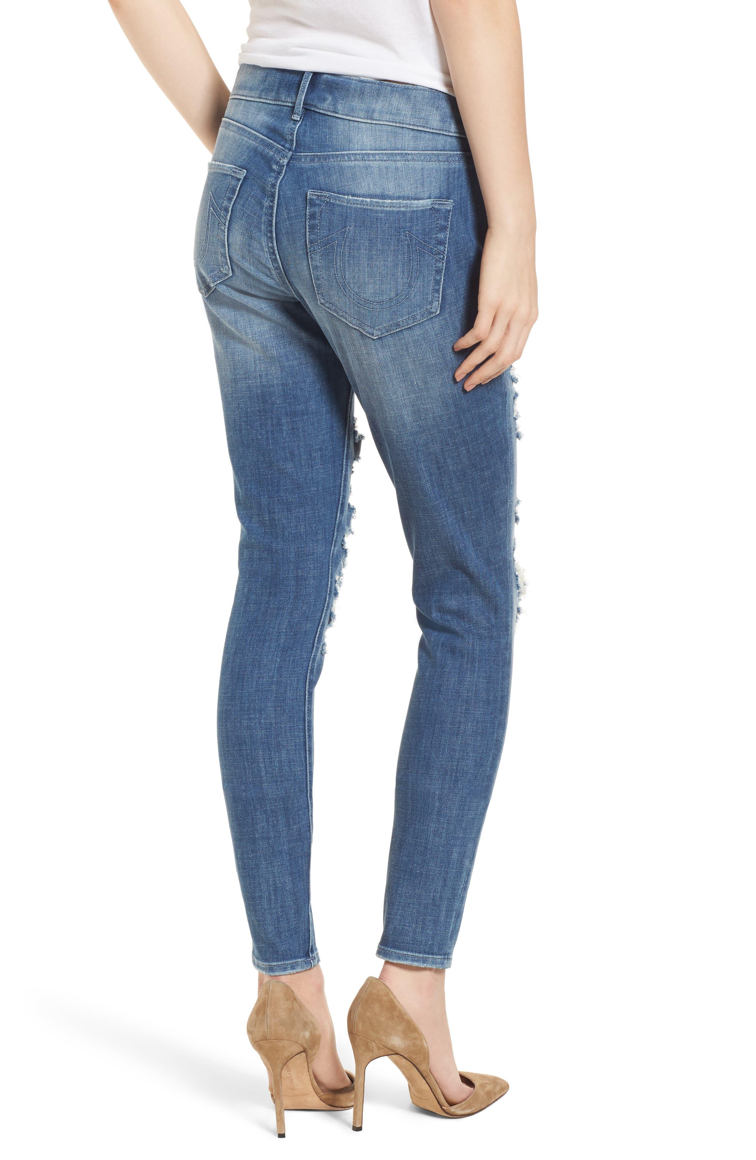 Jennie Runaway Legging Jeans,                             Alternate thumbnail 2, color,                             401