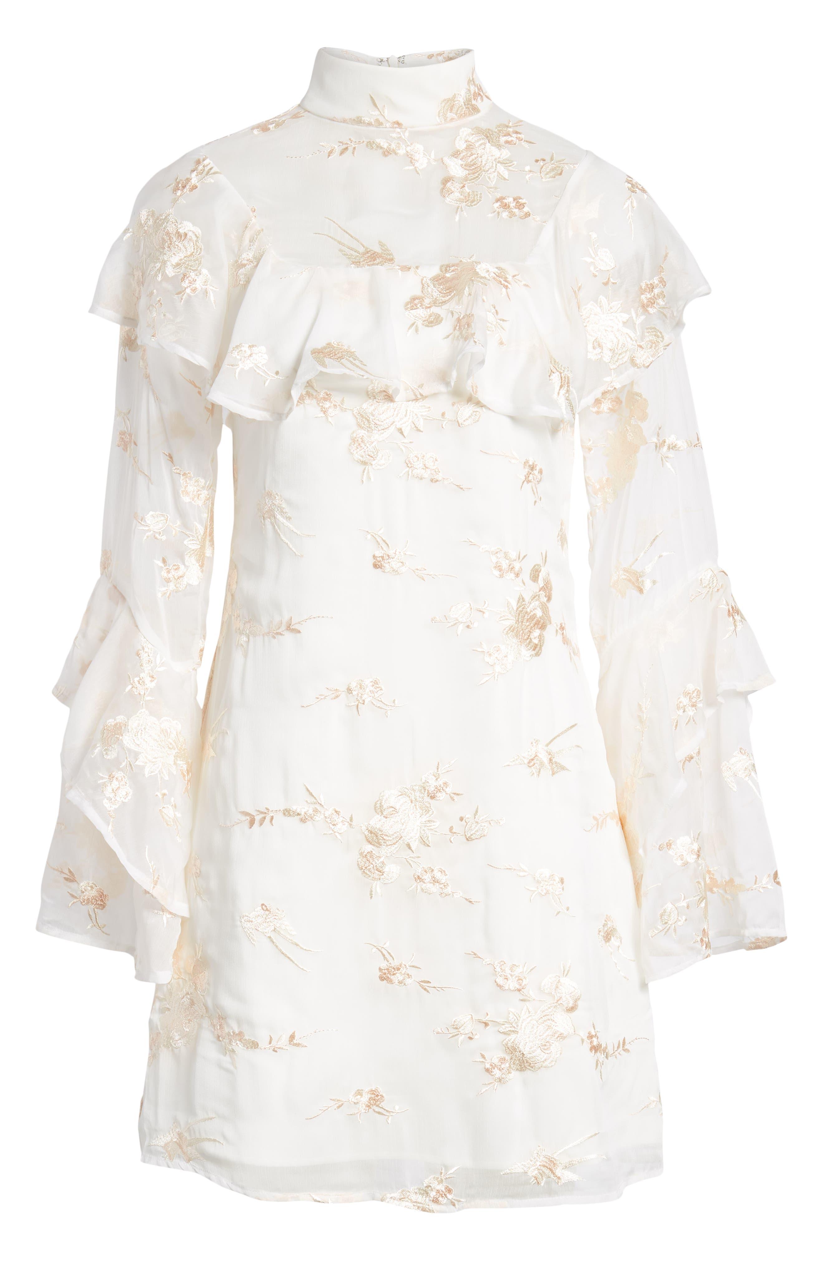 ELLIATT,                             Composition Dress,                             Alternate thumbnail 7, color,                             100