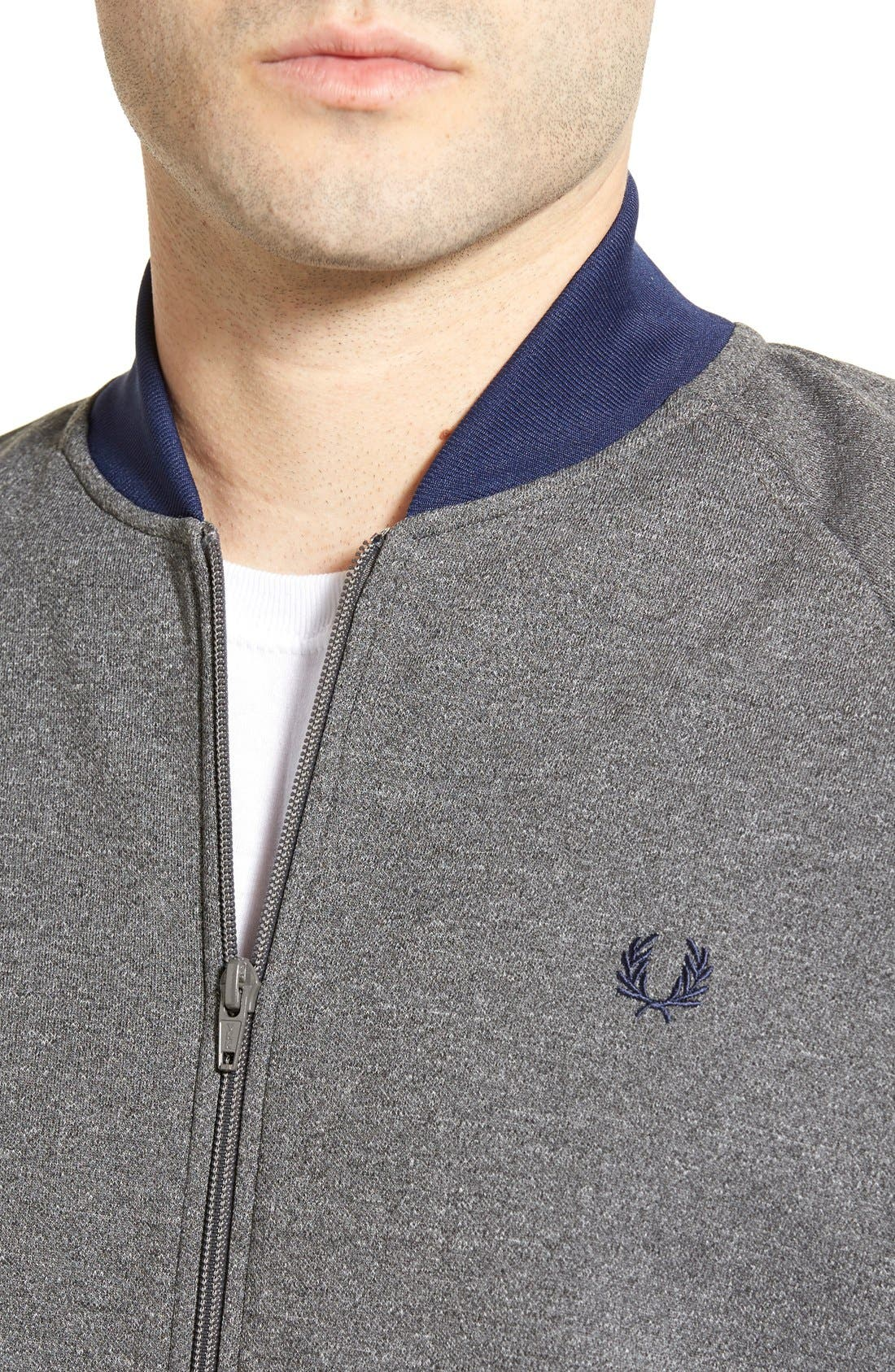 FRED PERRY,                             Bomber Track Jacket,                             Alternate thumbnail 2, color,                             024