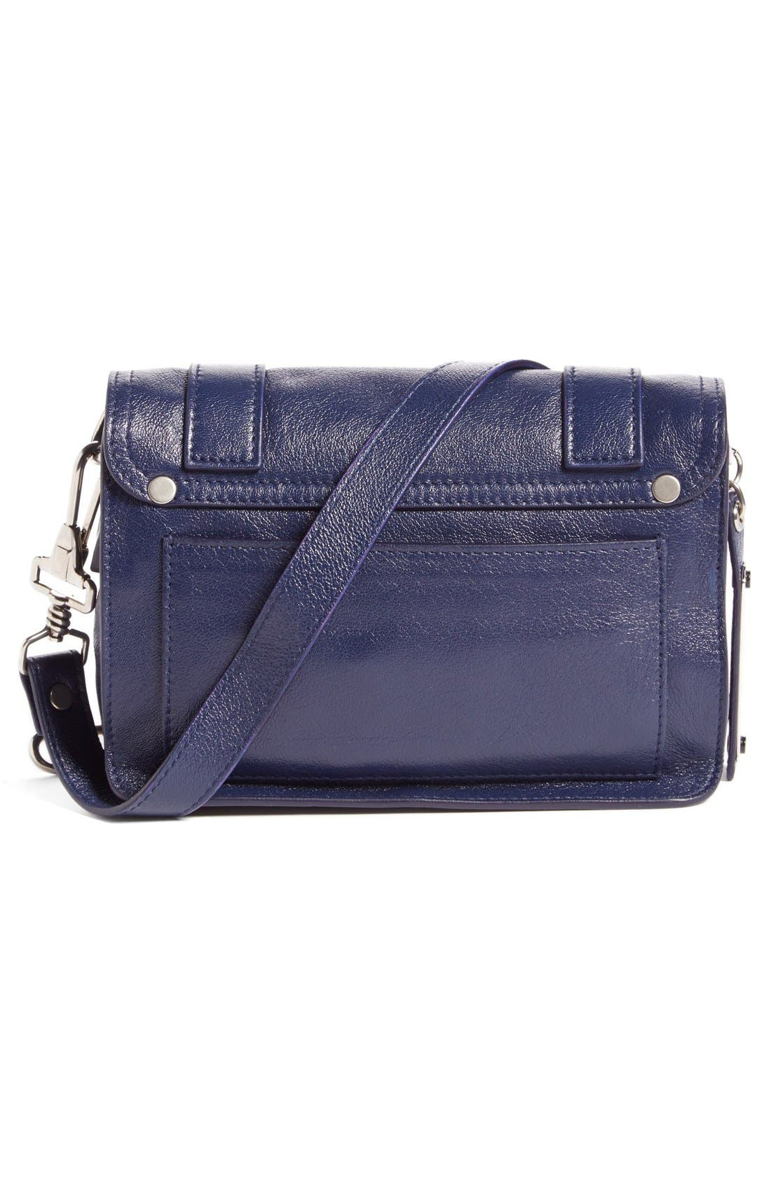 'Mini PS1' Lambskin Leather Crossbody Bag,                             Alternate thumbnail 10, color,