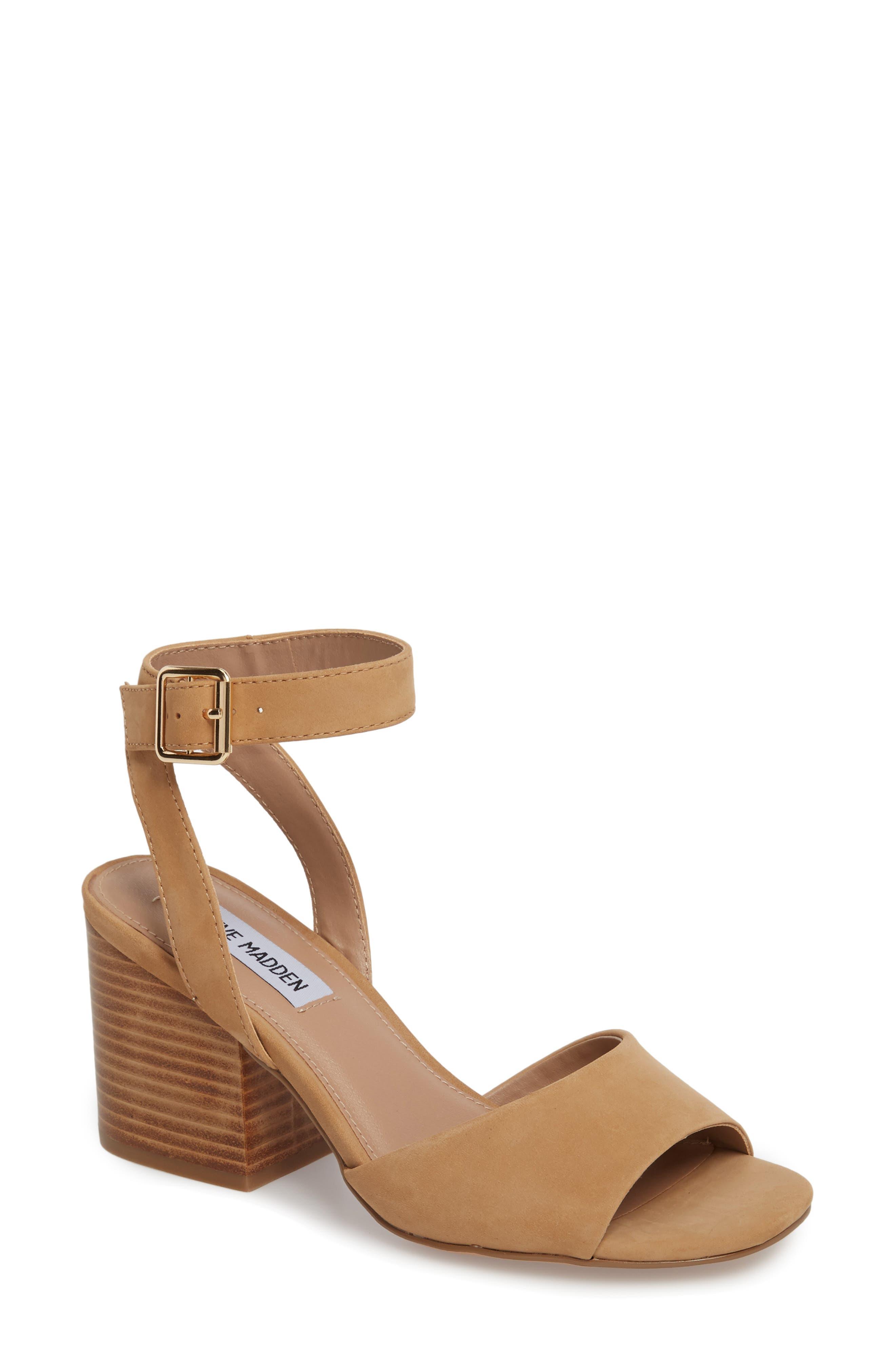 Devlin Block Heel Sandal, Main, color, 200