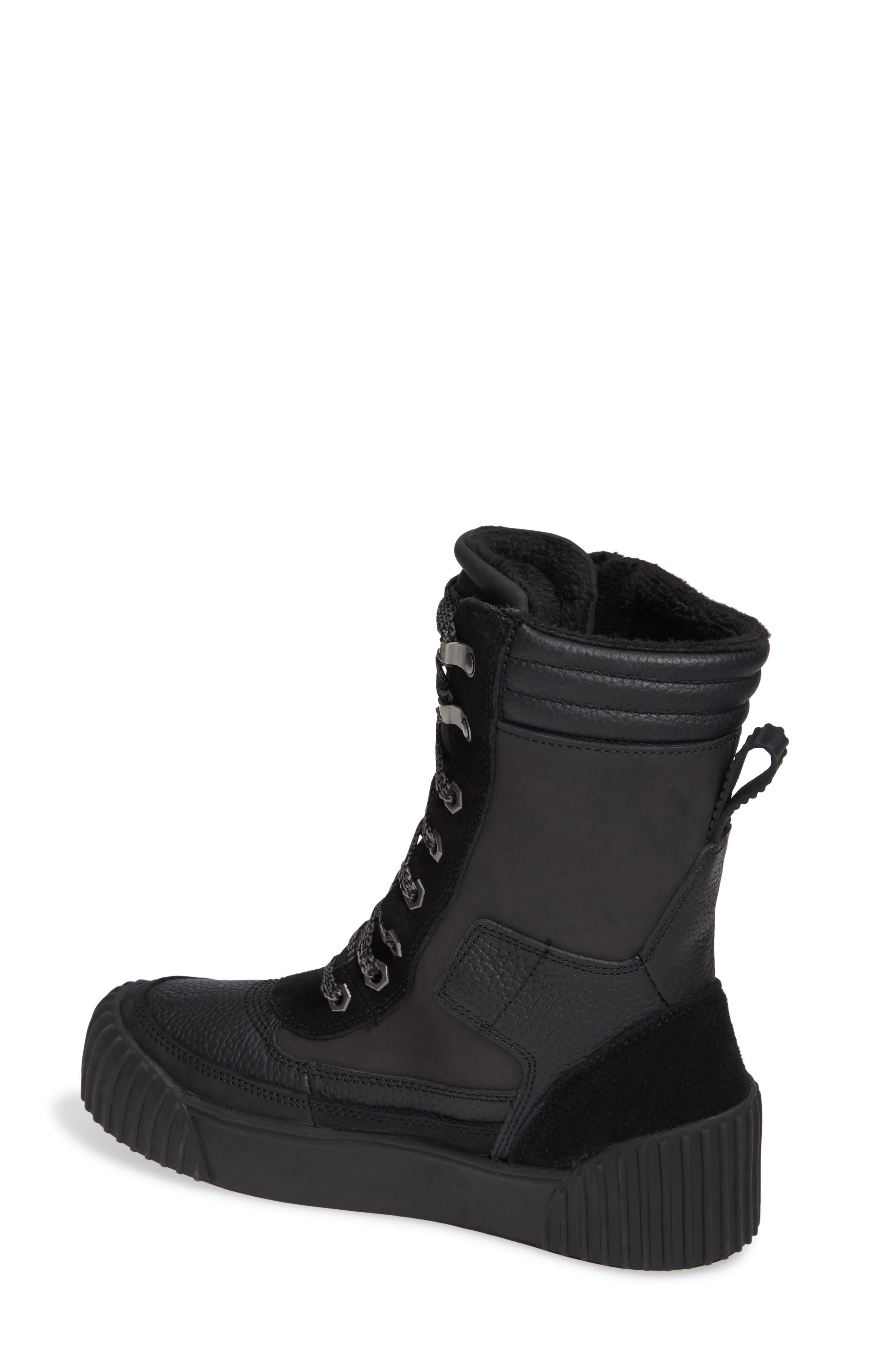 PAJAR,                             Roya Waterproof Sneaker Boot,                             Alternate thumbnail 2, color,                             BLACK