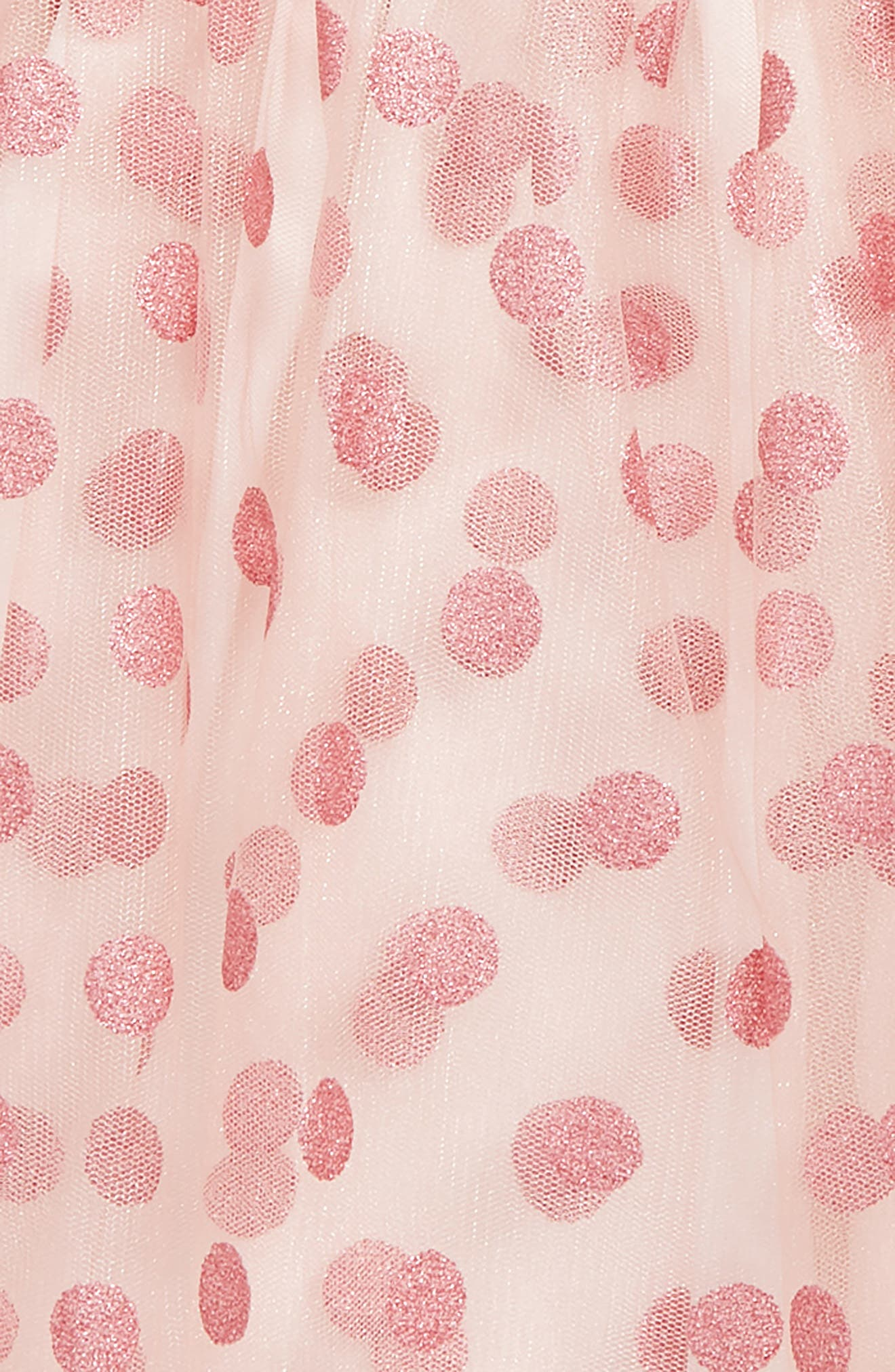 Sparkle Tulle Skirt,                             Alternate thumbnail 2, color,                             PINK PEACHSKIN DOT