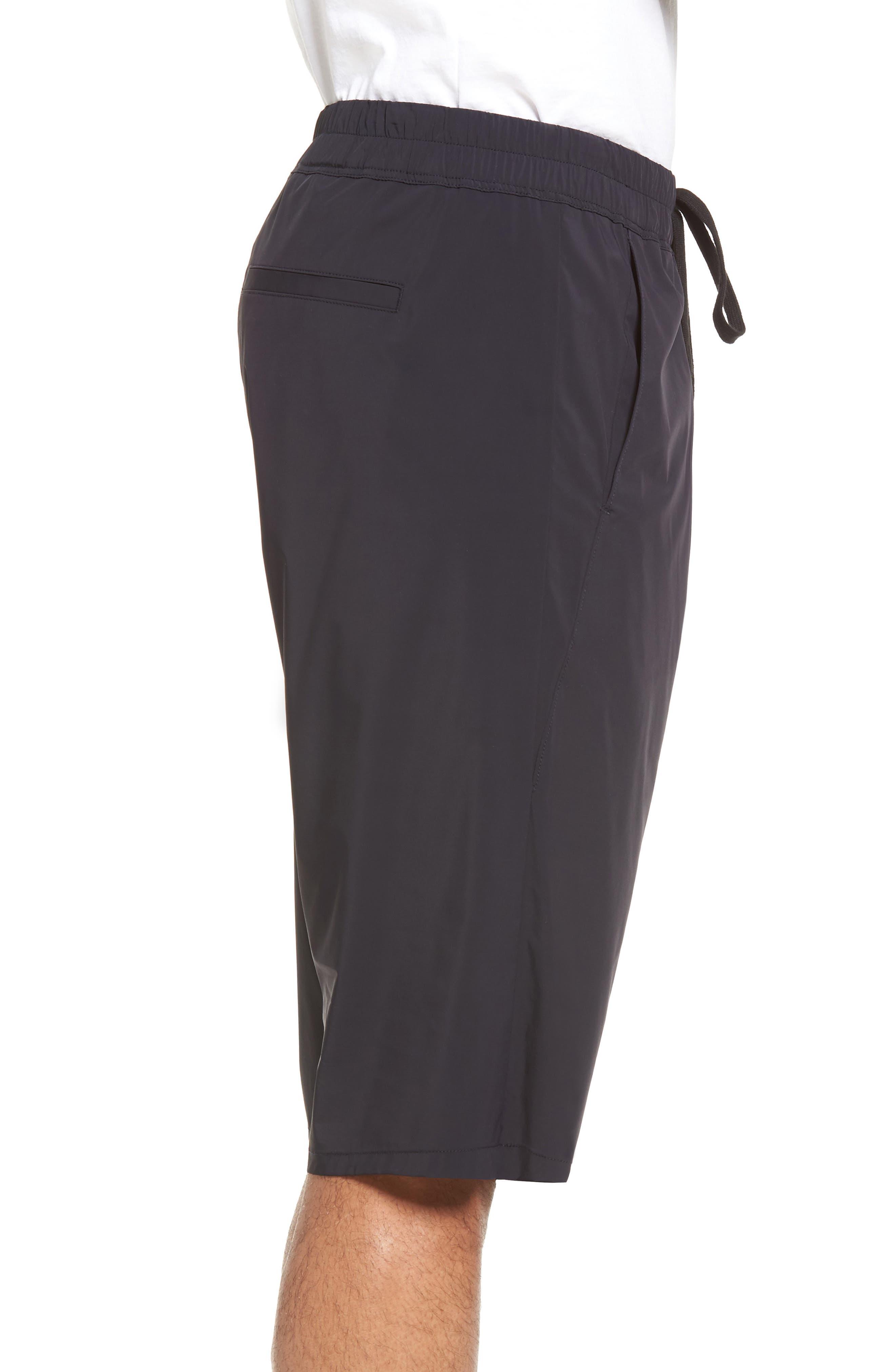 Drop Crotch Shorts,                             Alternate thumbnail 3, color,                             001